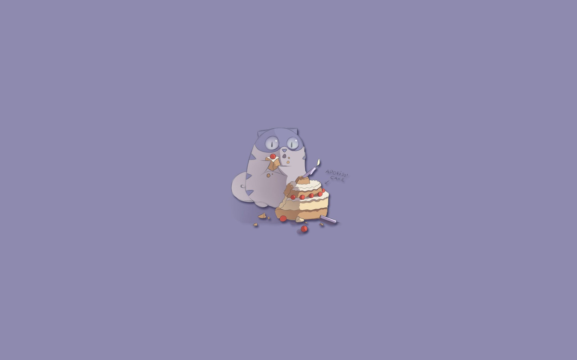 Cat Cake Funny