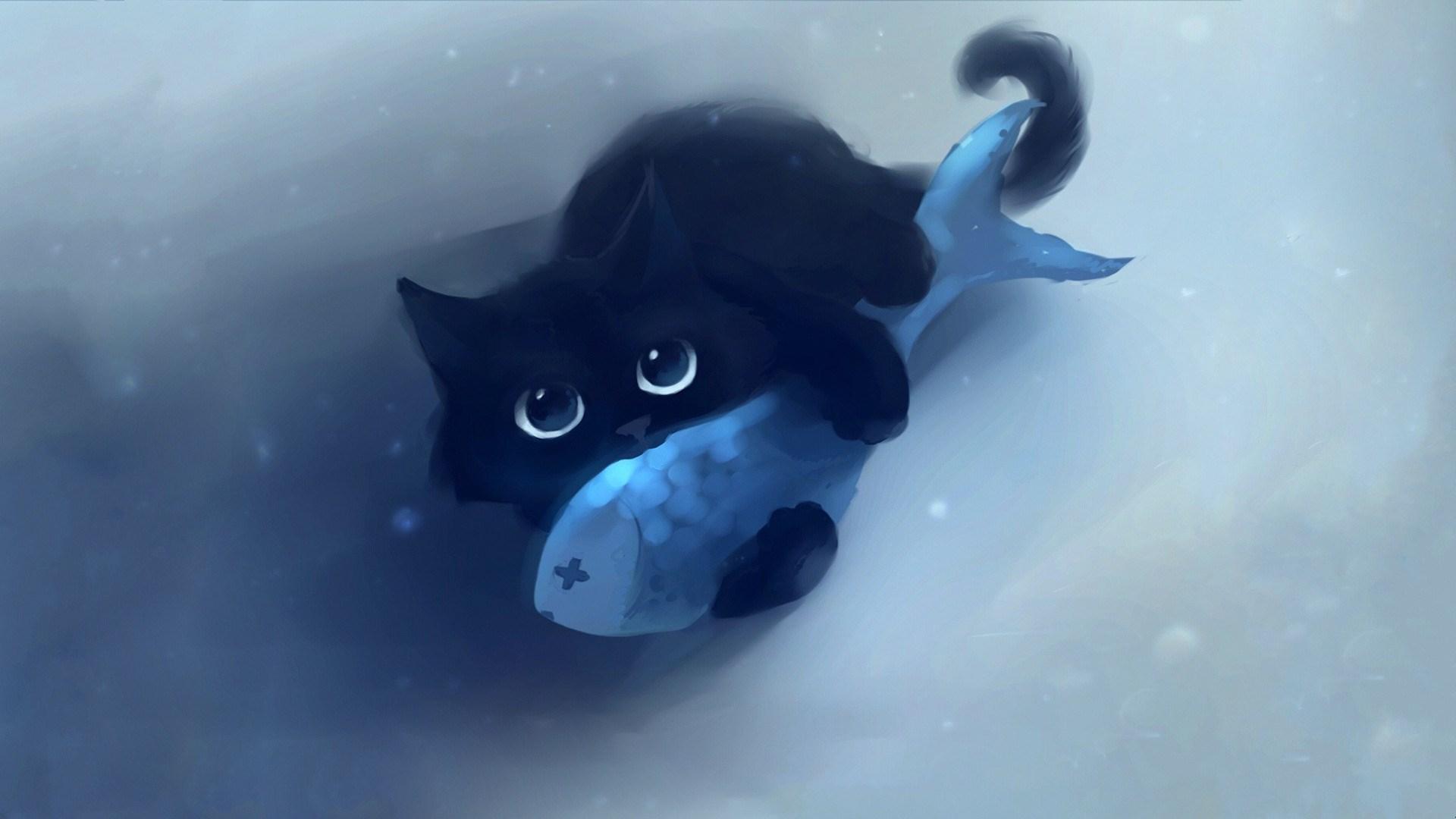 Cat Fish Artwork