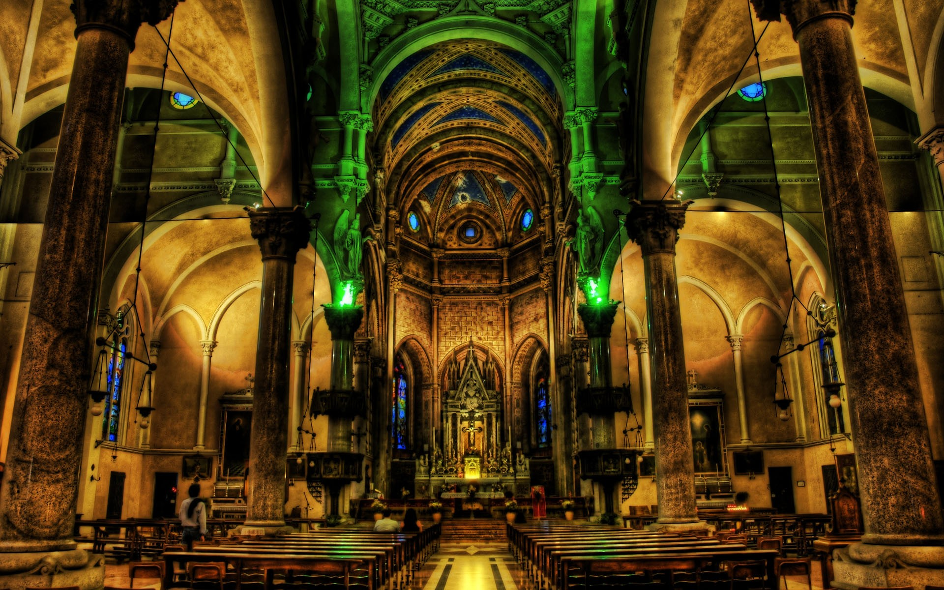 HD Wallpaper | Background ID:96151. 1920x1200 Religious Cathedral
