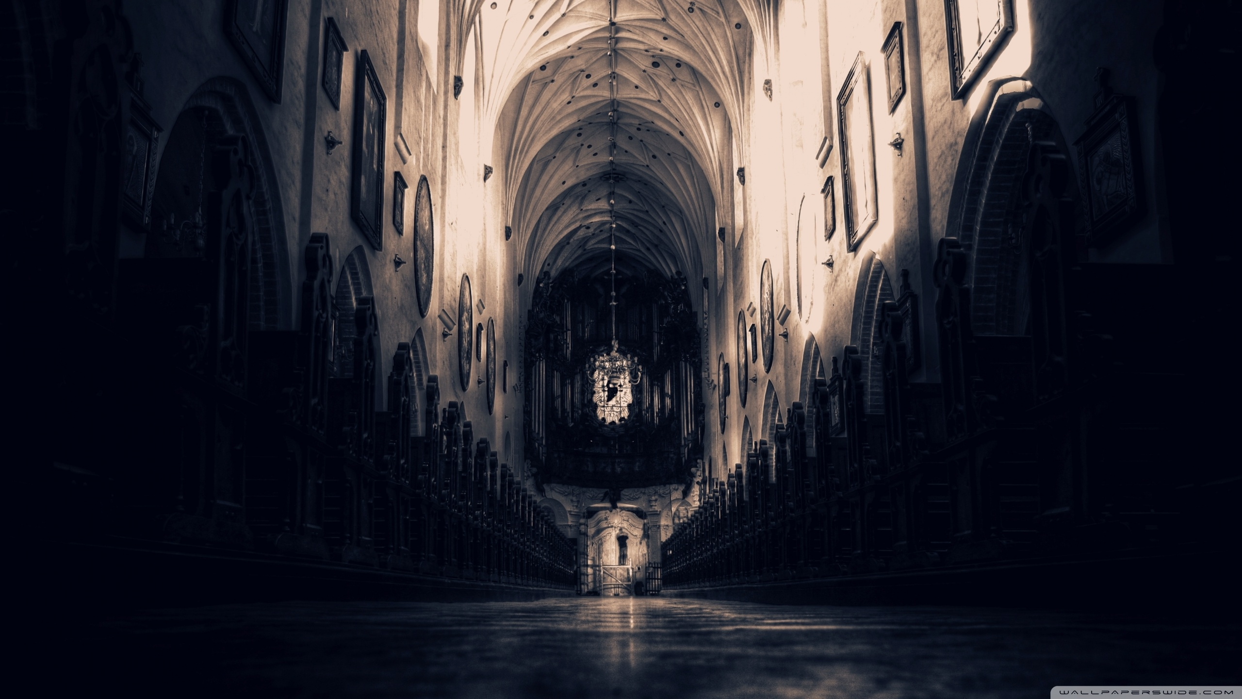Cathedral Wallpaper
