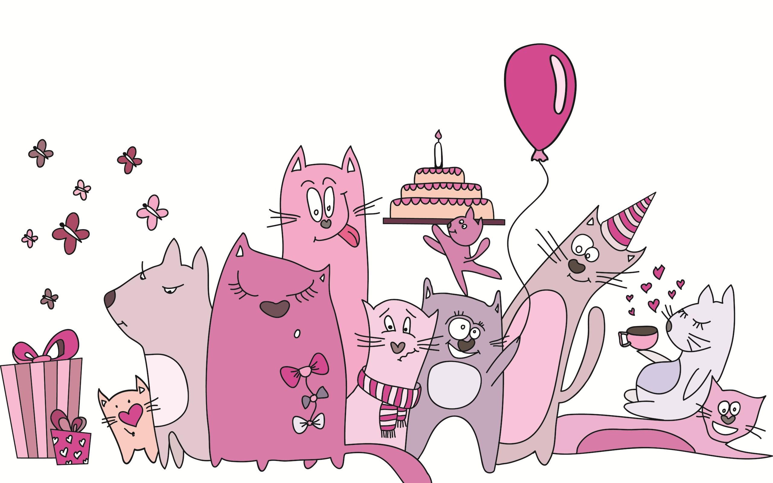 Cats Art Cartoon Funny
