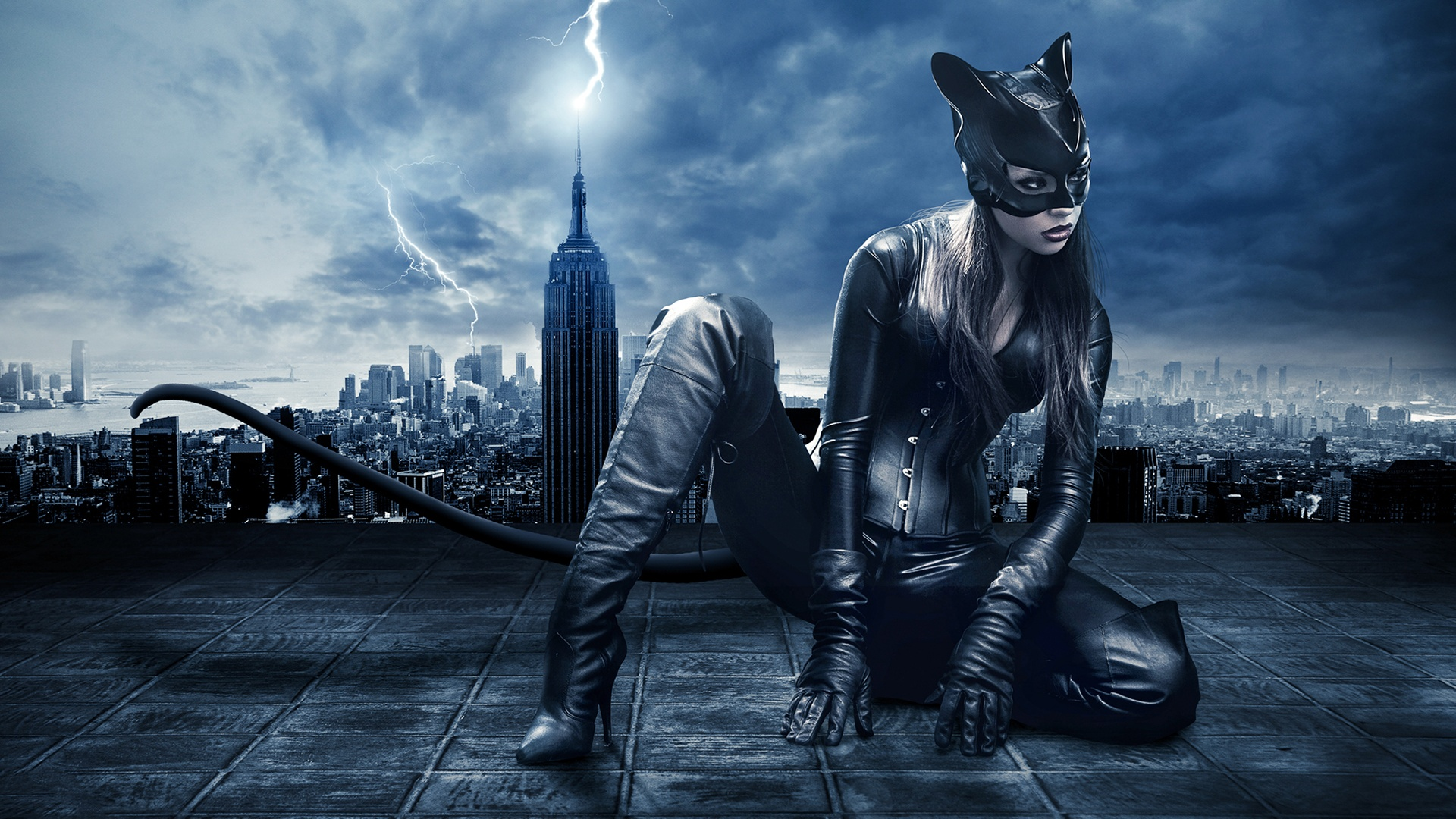 Catwoman Art Wallpaper