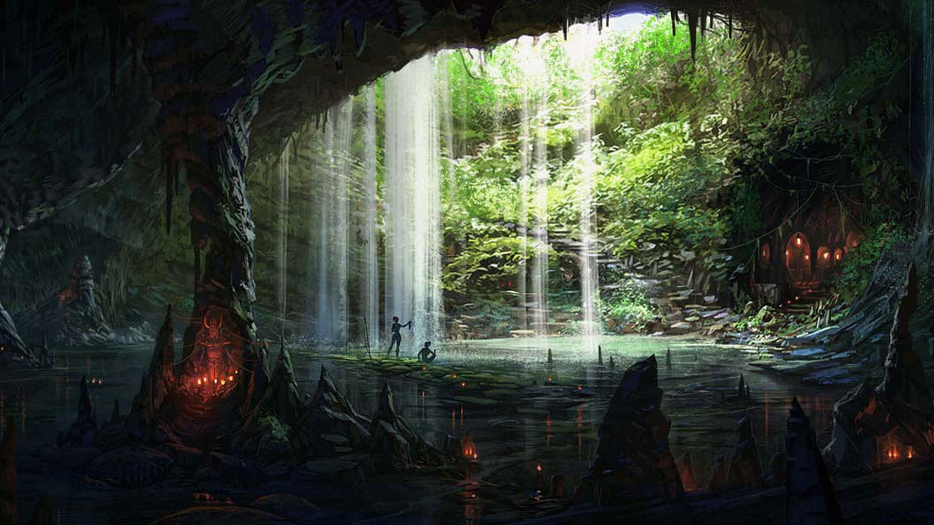 Amazing Cave Wallpaper