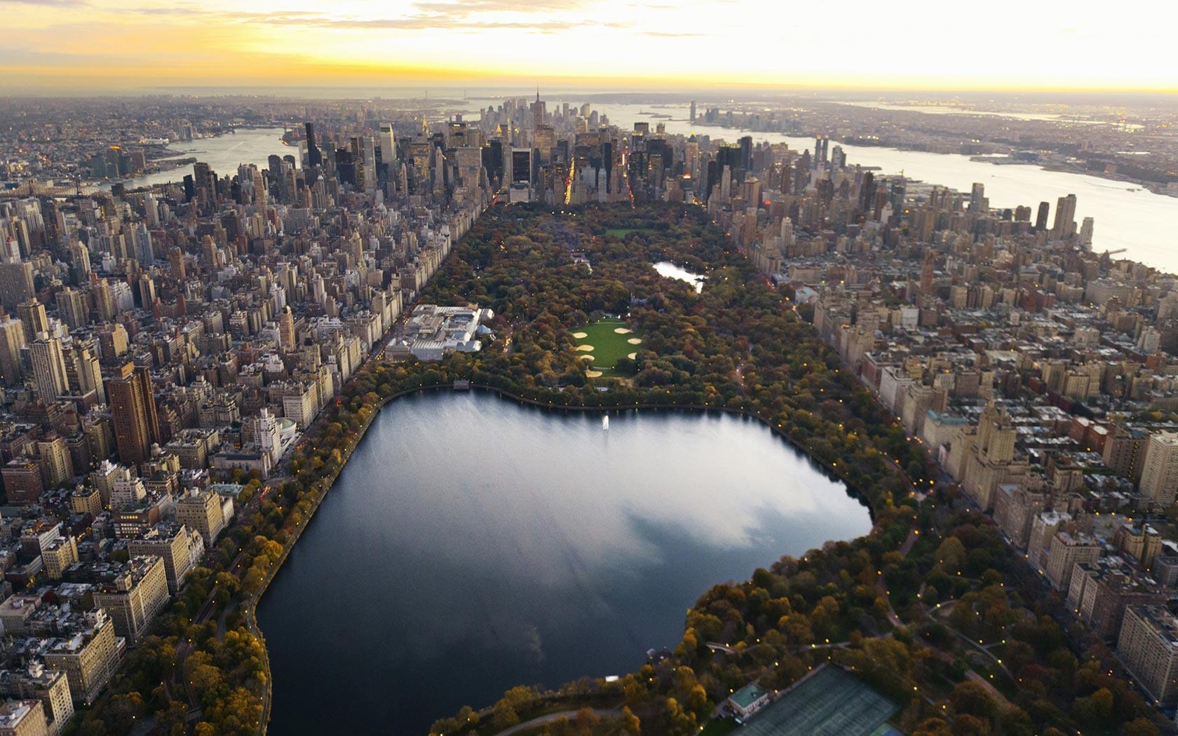 Central Park Wallpaper HD