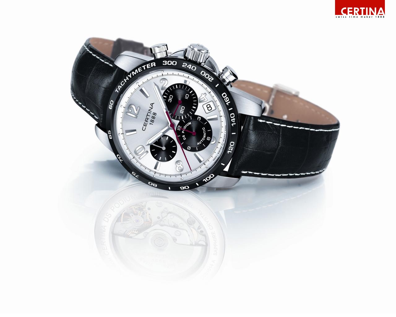 Certina DS Podium Valgranges Automatic Chronograph