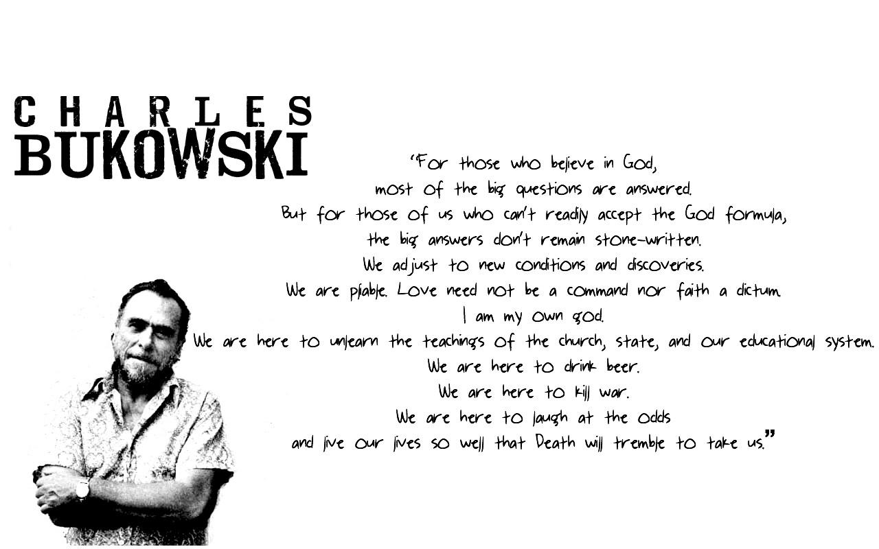 Charles Bukowski Wallpaper (9)