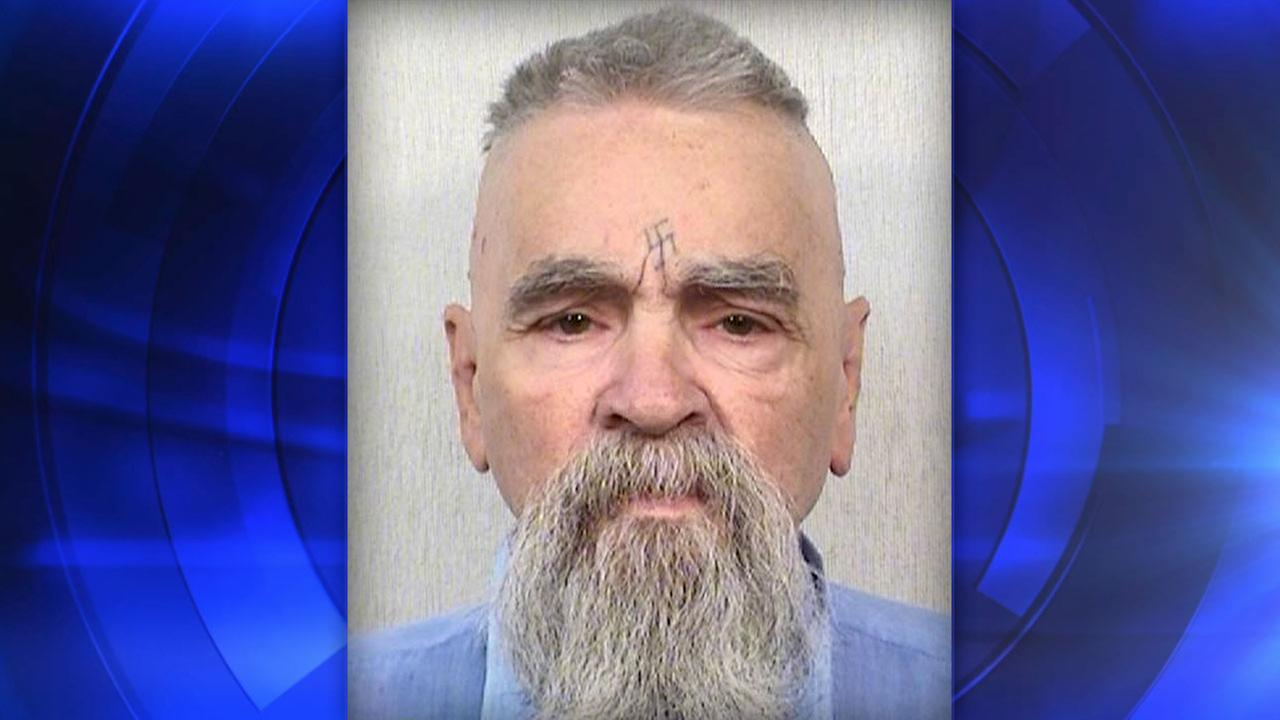 This Oct. 8, 2014 photo provided by the California Department of Corrections shows 80-year-old serial killer Charles Manson.