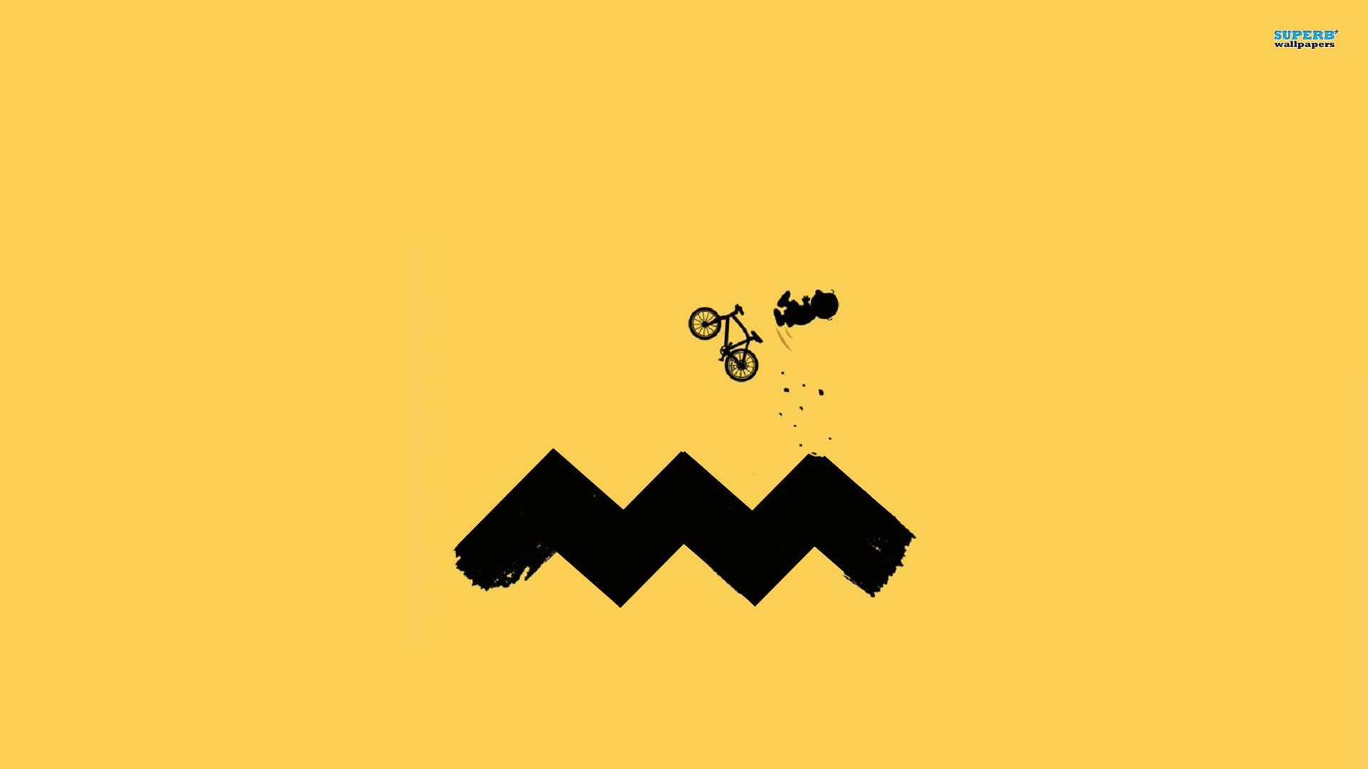 Charlie Brown cycling wallpaper 1920x1080 jpg
