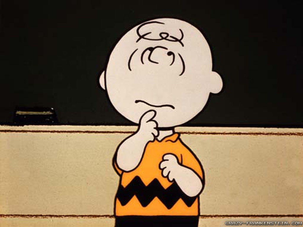 Wallpaper: Charlie Brown cartoon
