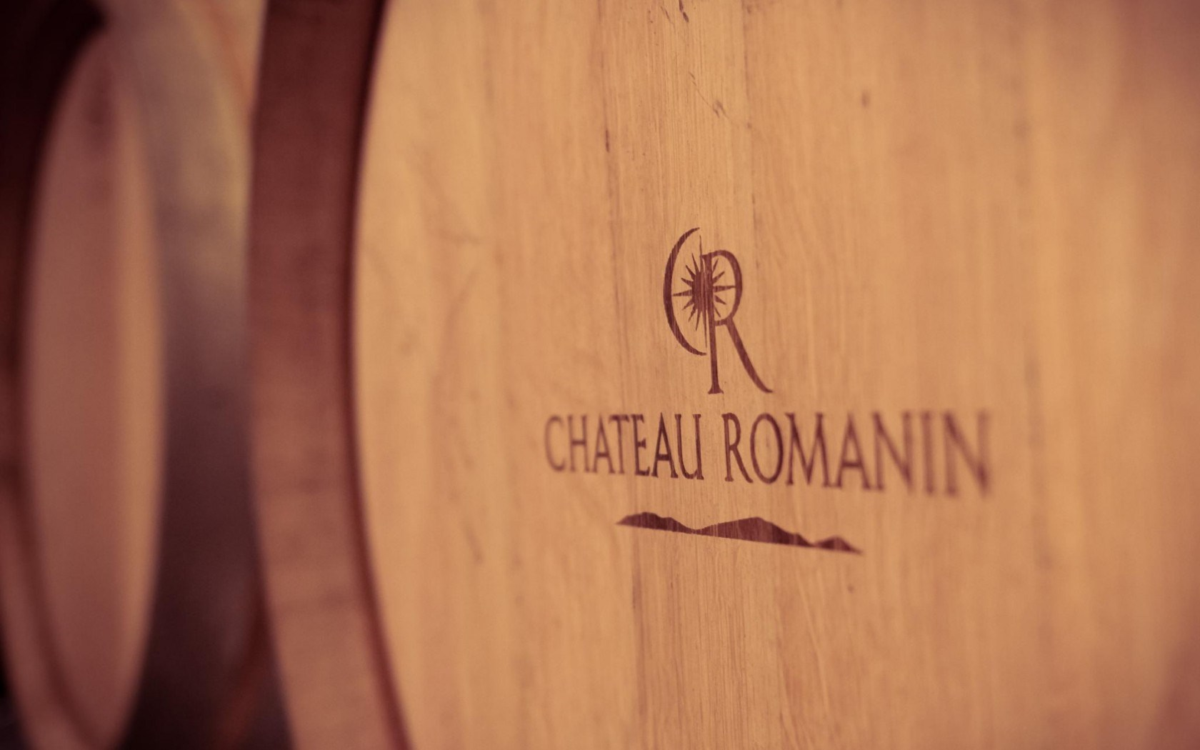 Chateau Romanin Wine Barrel