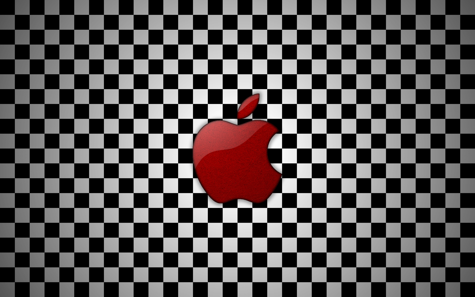 apple, wallpapers, checkered, sizes