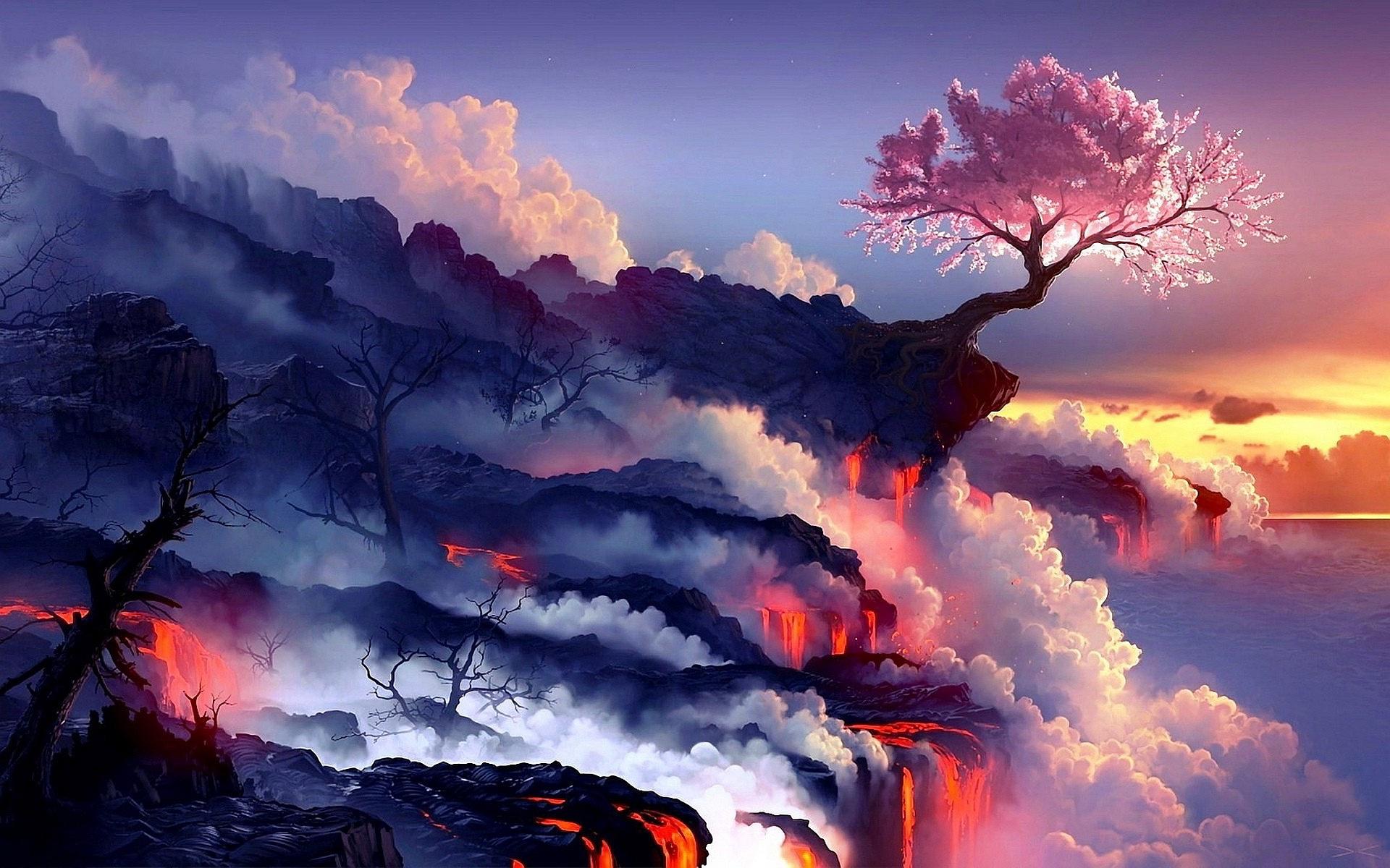 Cherry Tree Volcano