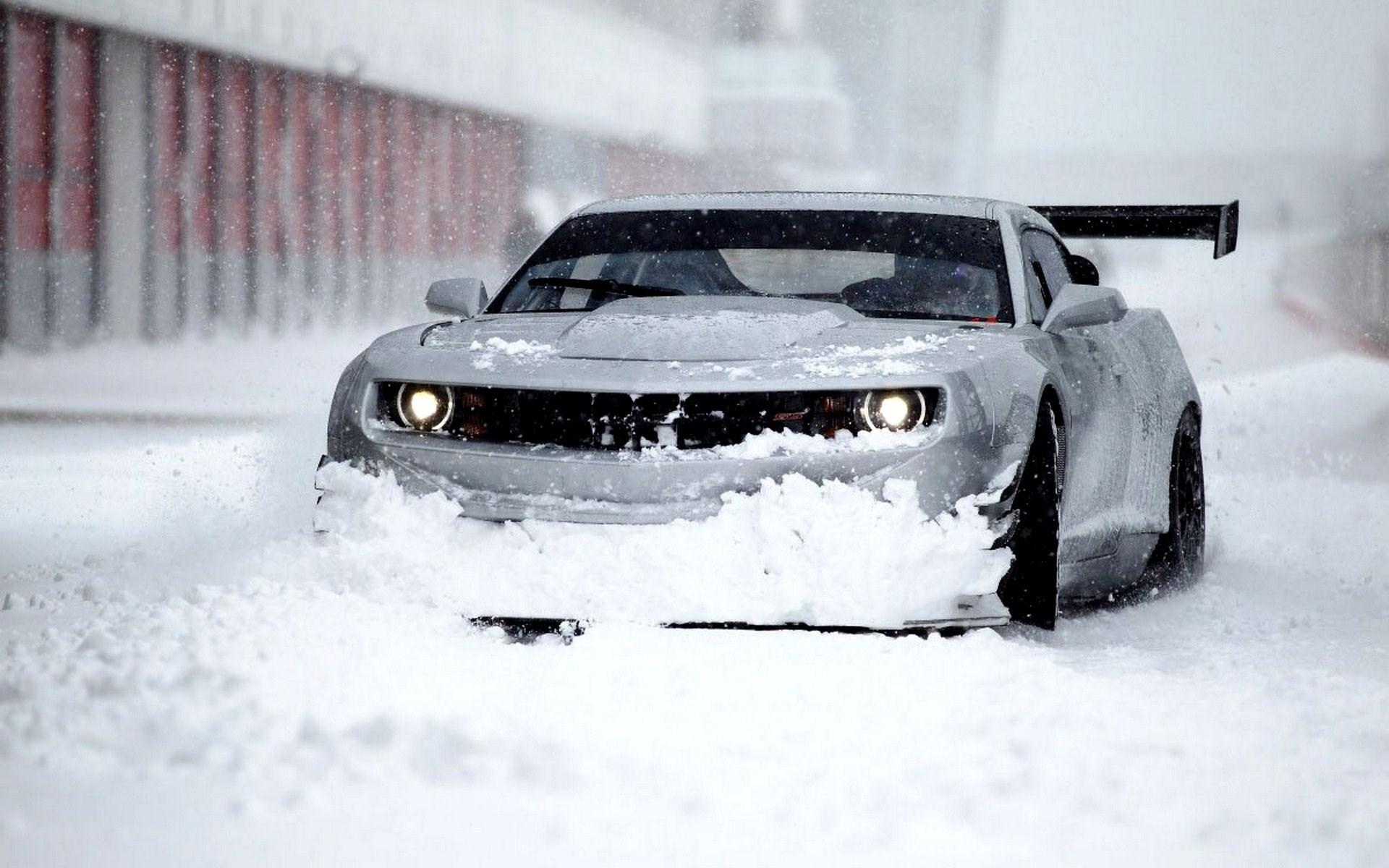Chevrolet Camaro GT3 650HP Winter Snow