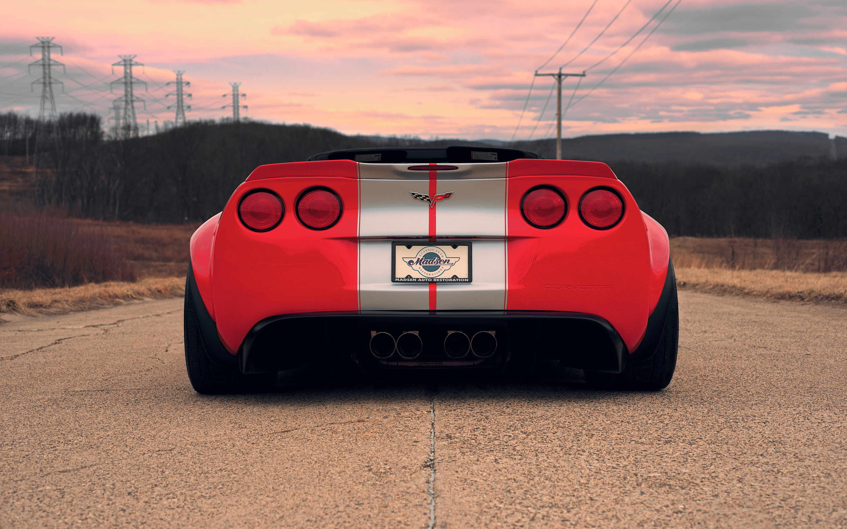 Chevrolet corvette z06 wide body