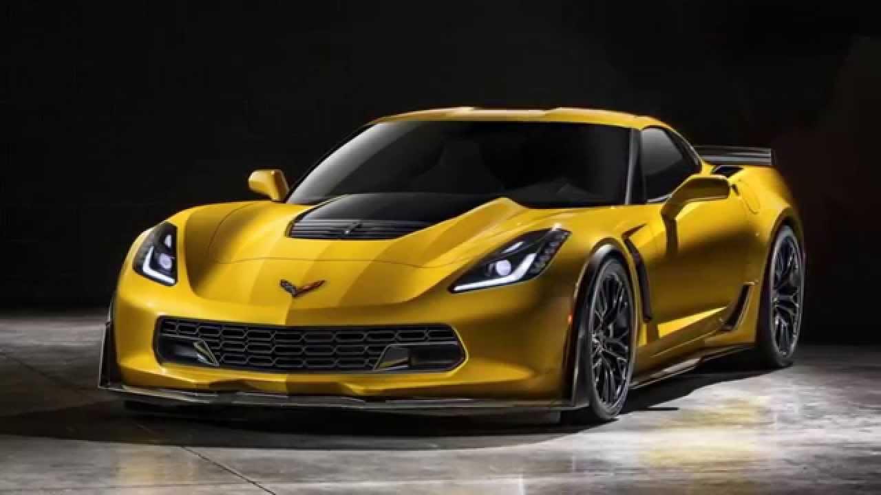 Chevrolet Corvette Z06 Yellow