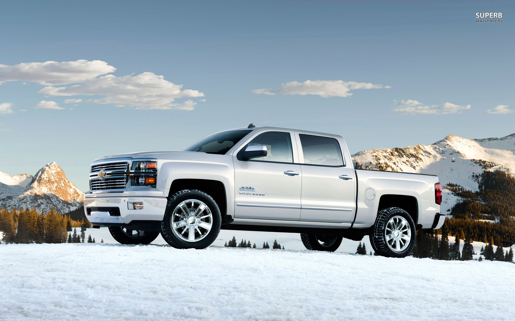2014 Chevrolet Silverado wallpaper 1680x1050