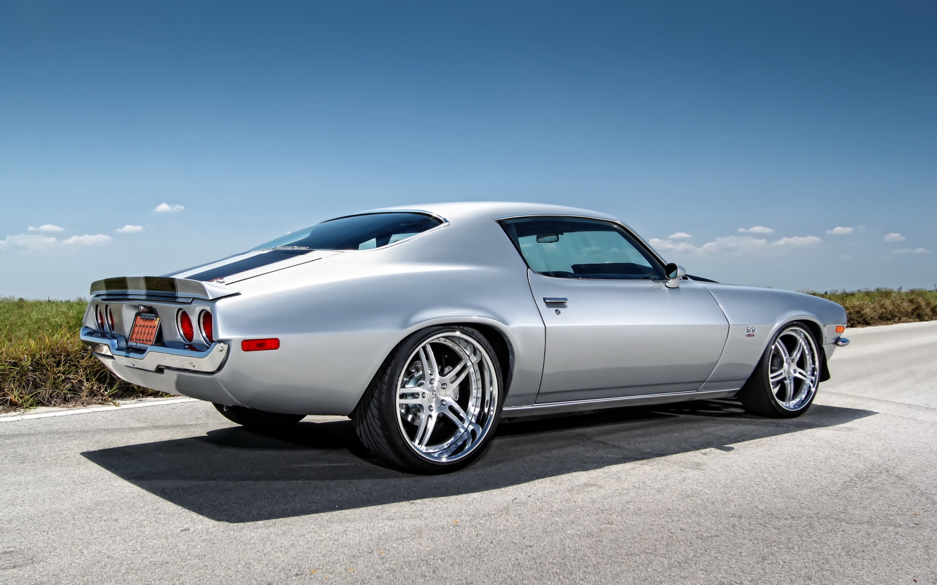 Chevy camaro muscle car Wallpaper in 1920x1200 Widescreen