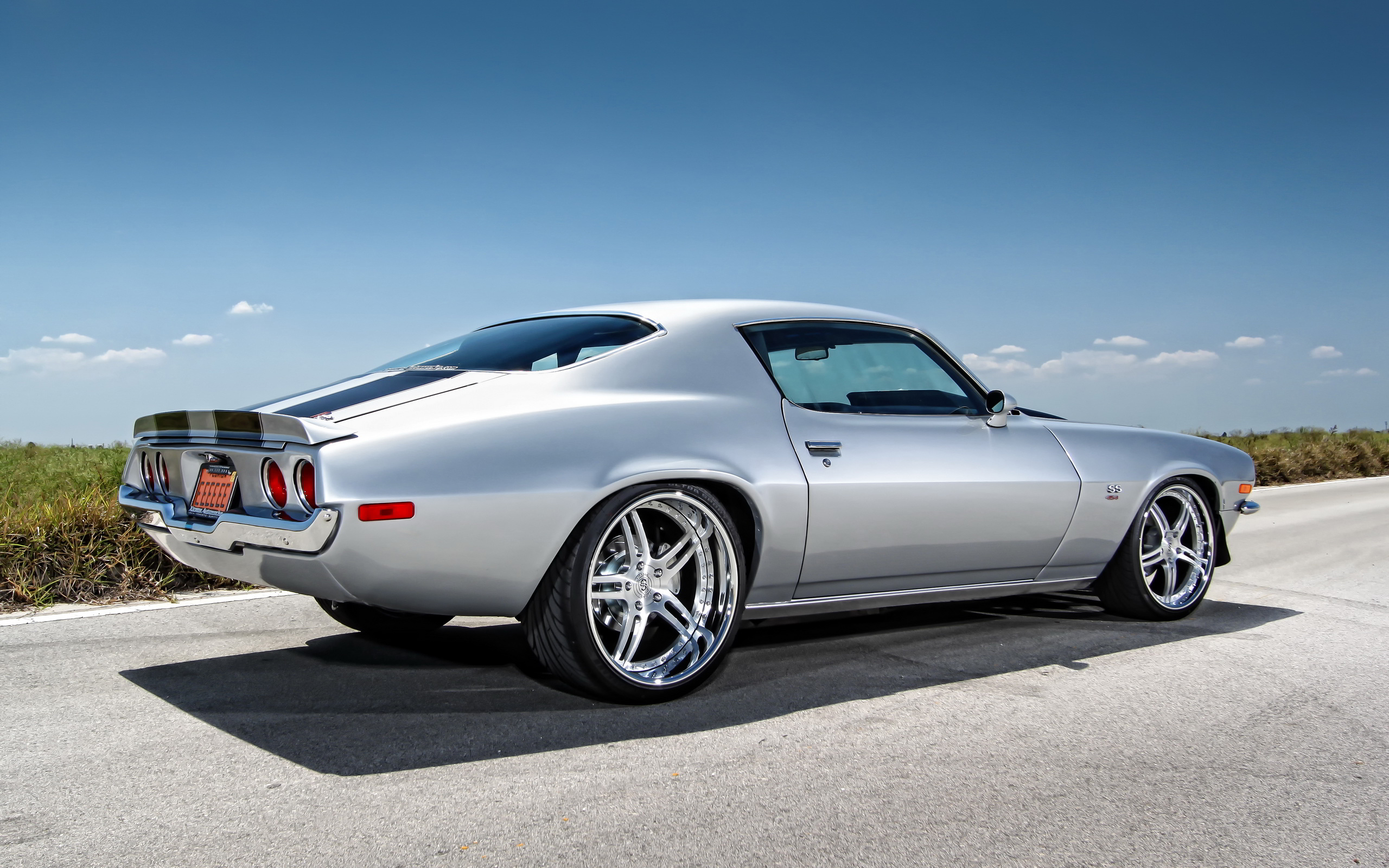 Chevy Camaro Muscle Car Wallpaper 2560x1600 16478