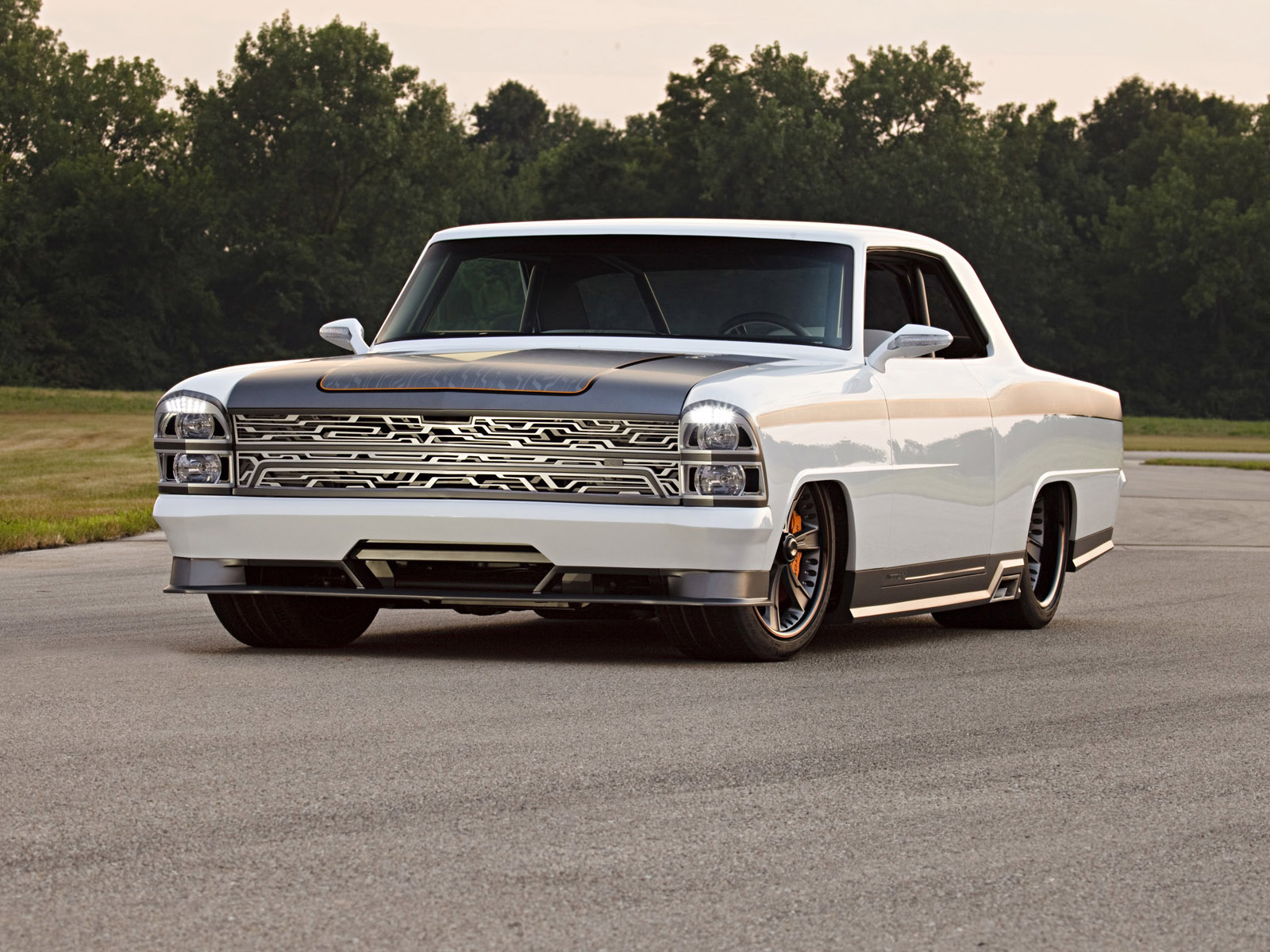 Chevy classic hot rod