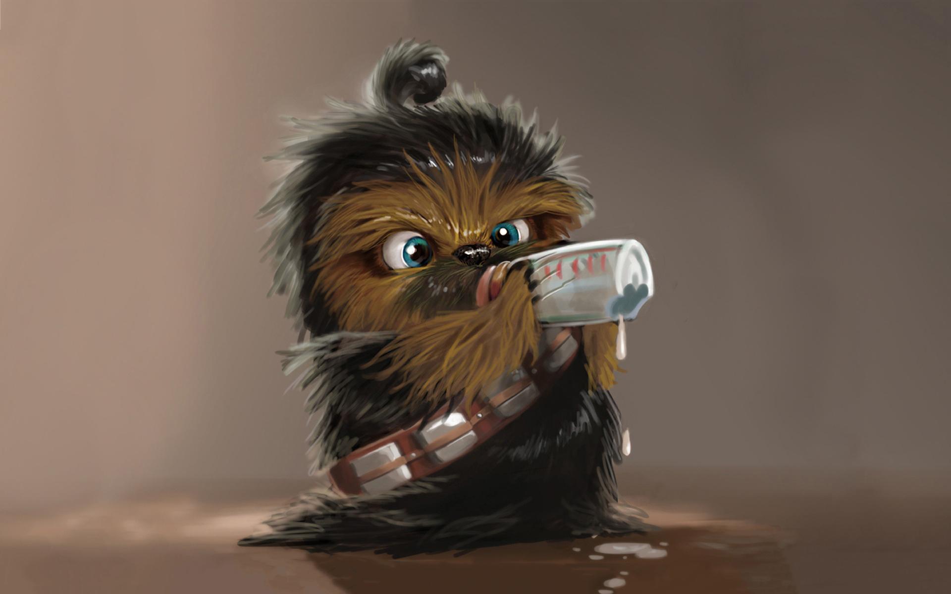 Chewbacca baby