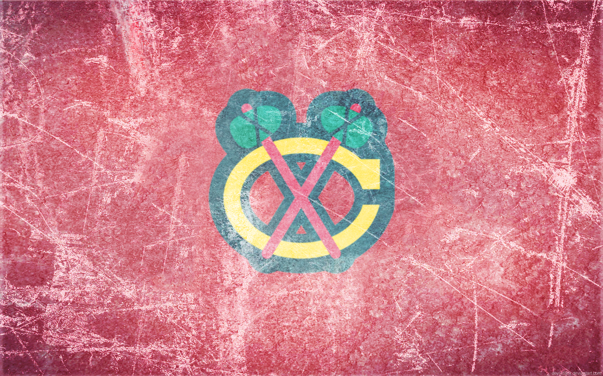 Chicago Blackhawks Logo Wallpaper 12