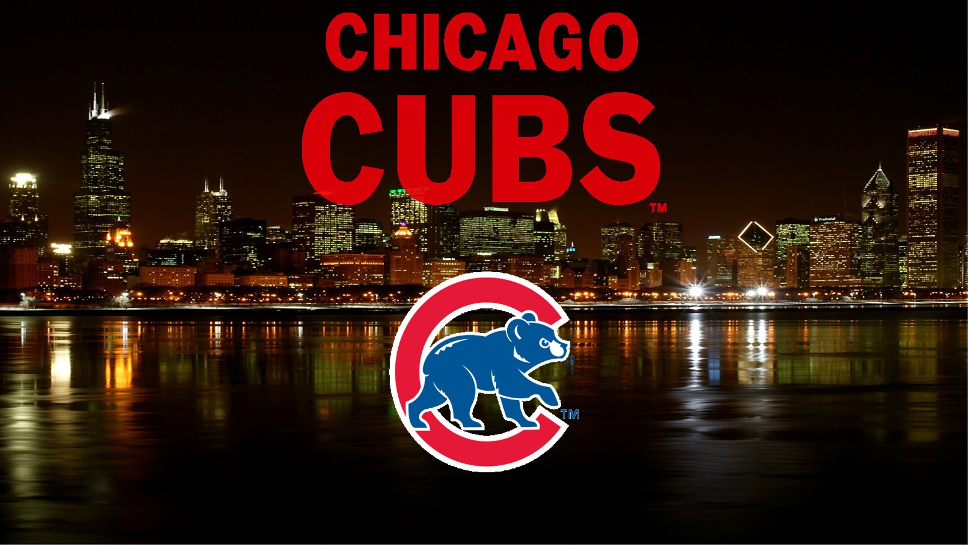Chicago Cubs Skyline Wallpaper