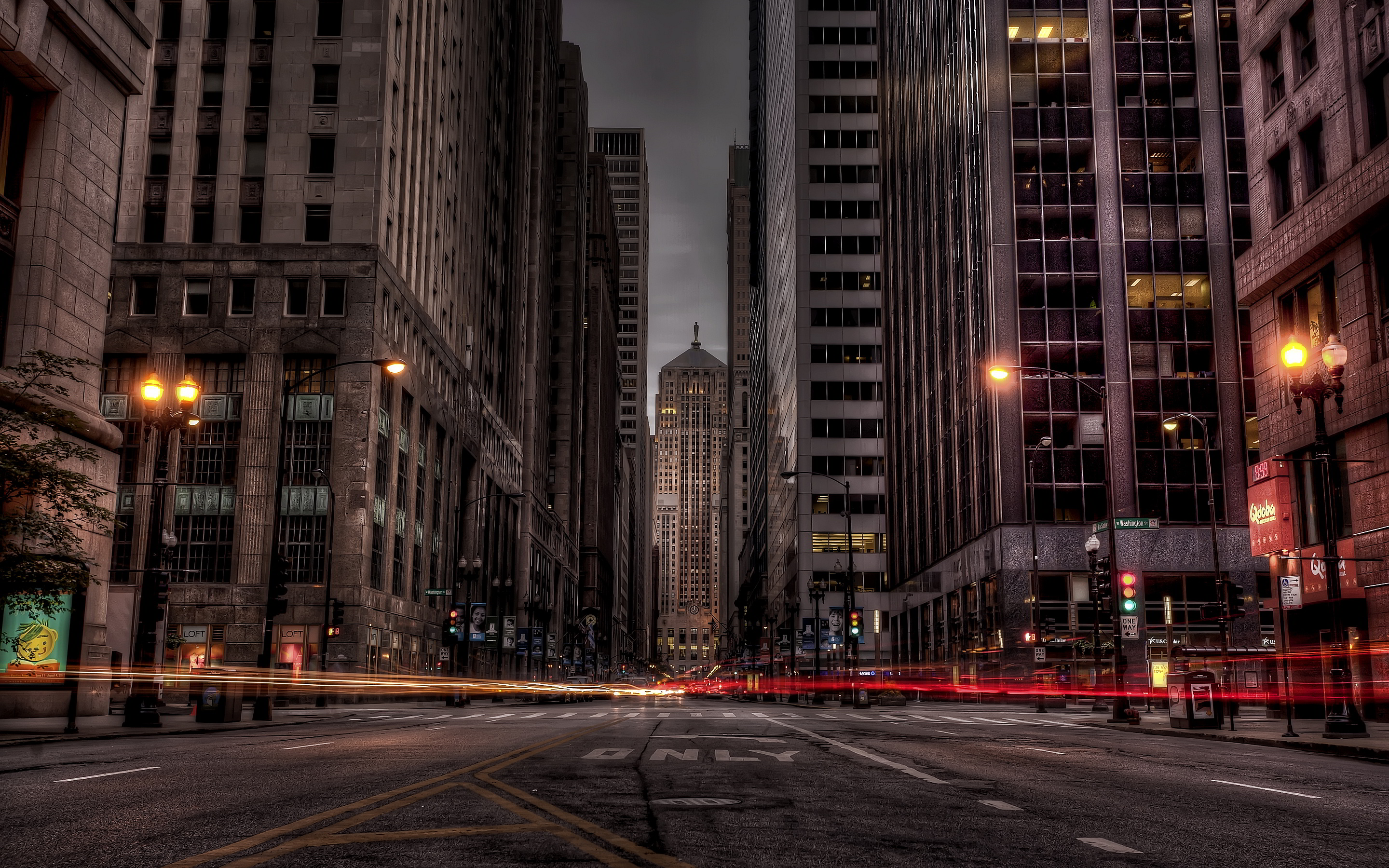 Chicago dark streets