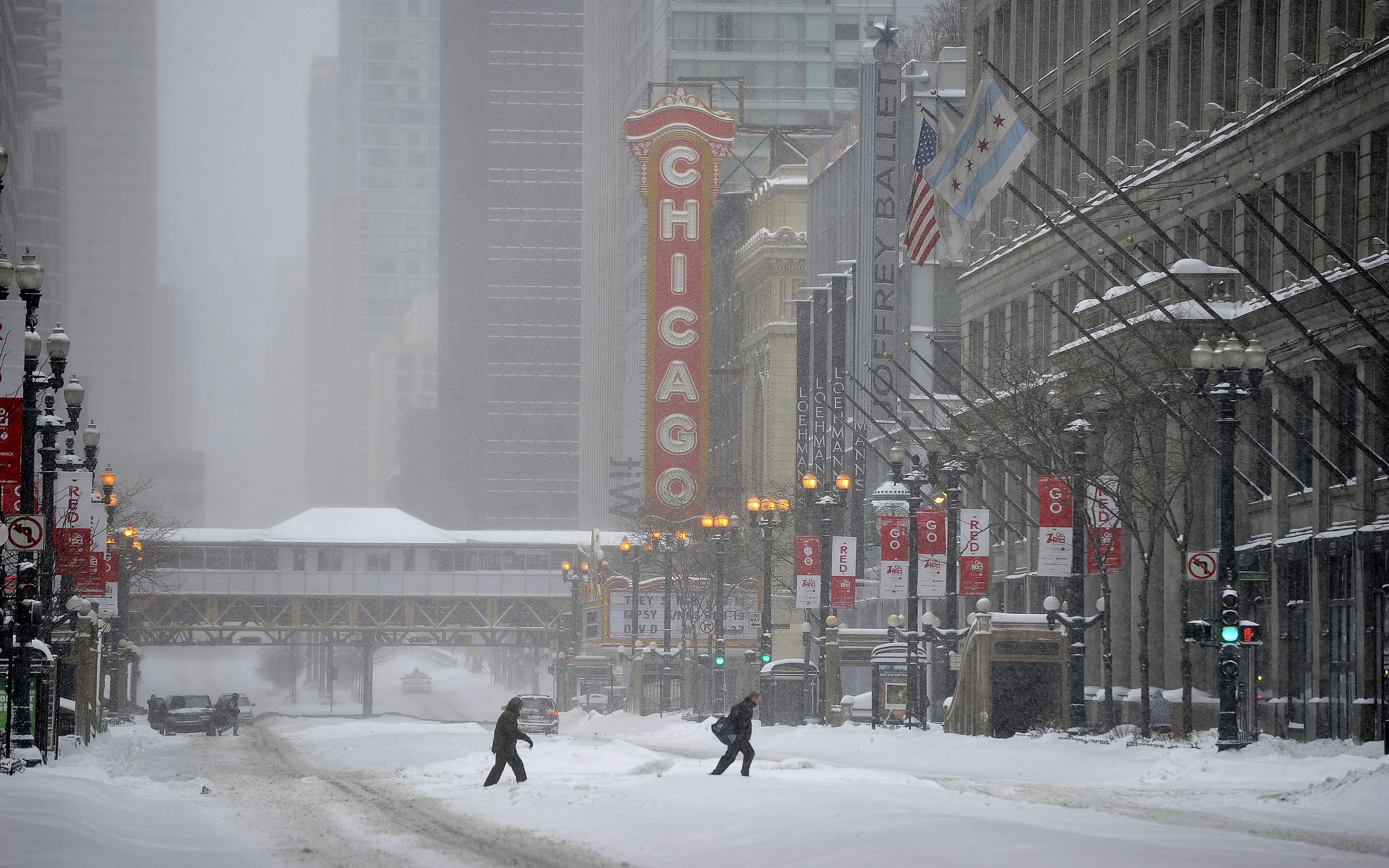 Chicago illinois winter