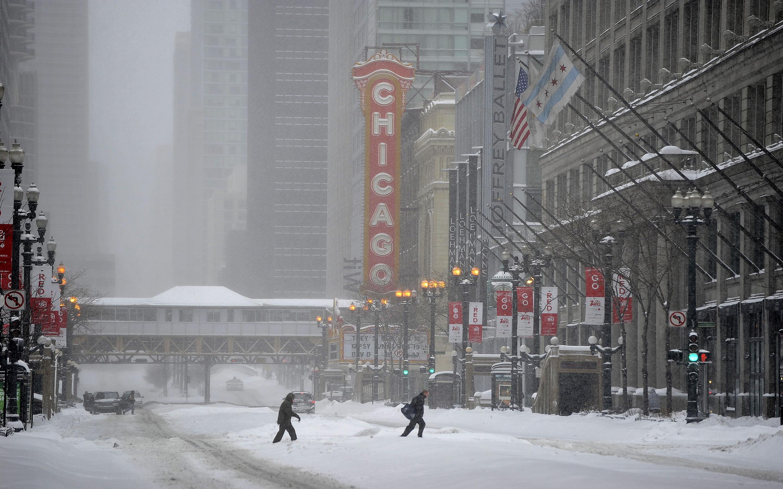 Chicago illinois winter