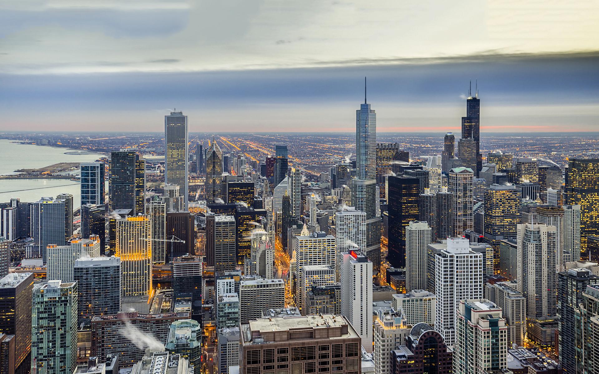 Chicago winter usa