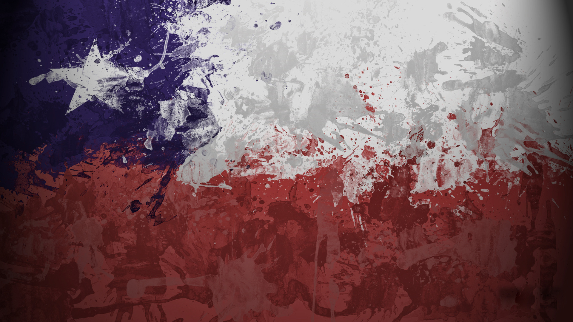 Chile flag wallpaper