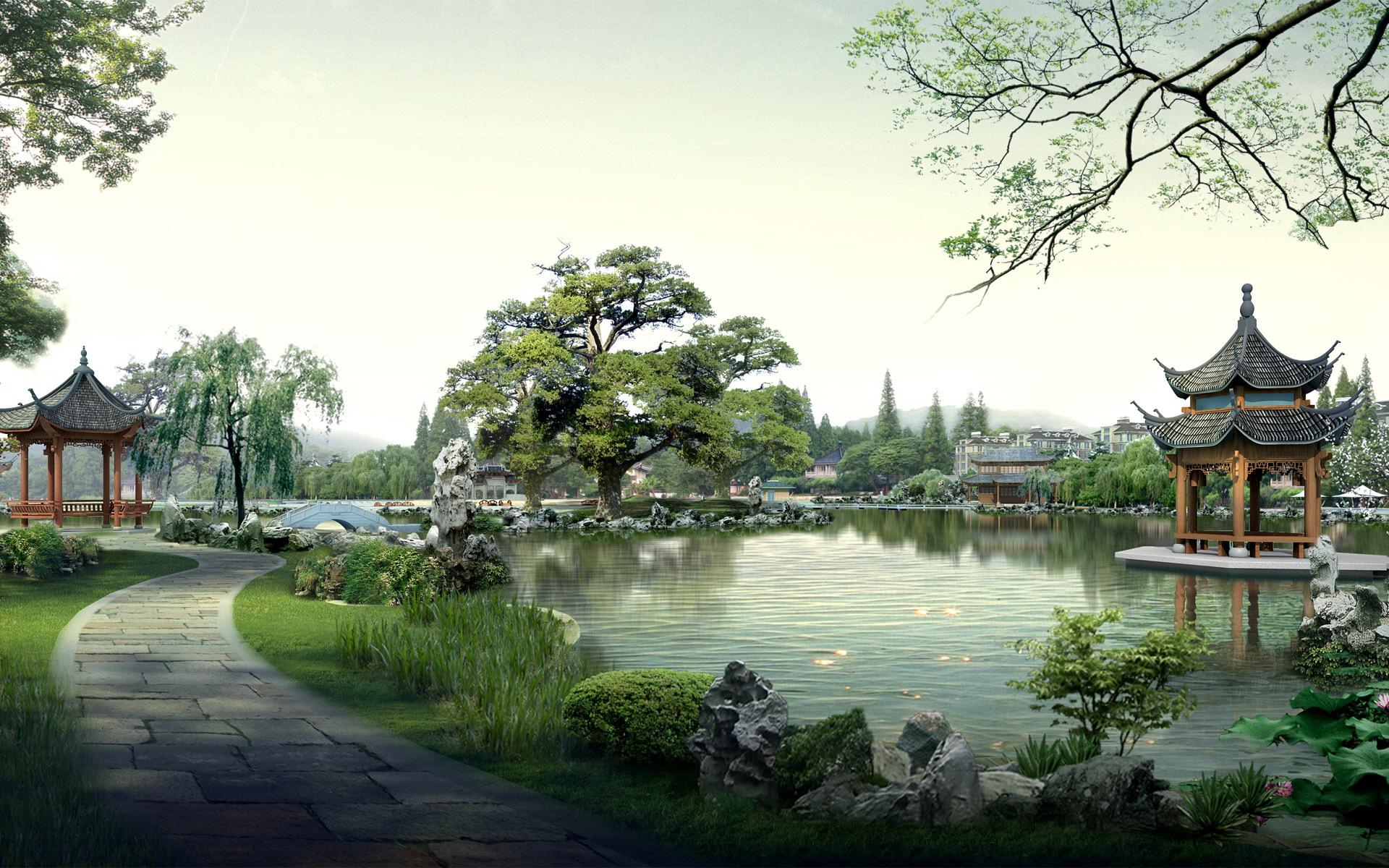 China Landscape Wallpaper 1920x1200px
