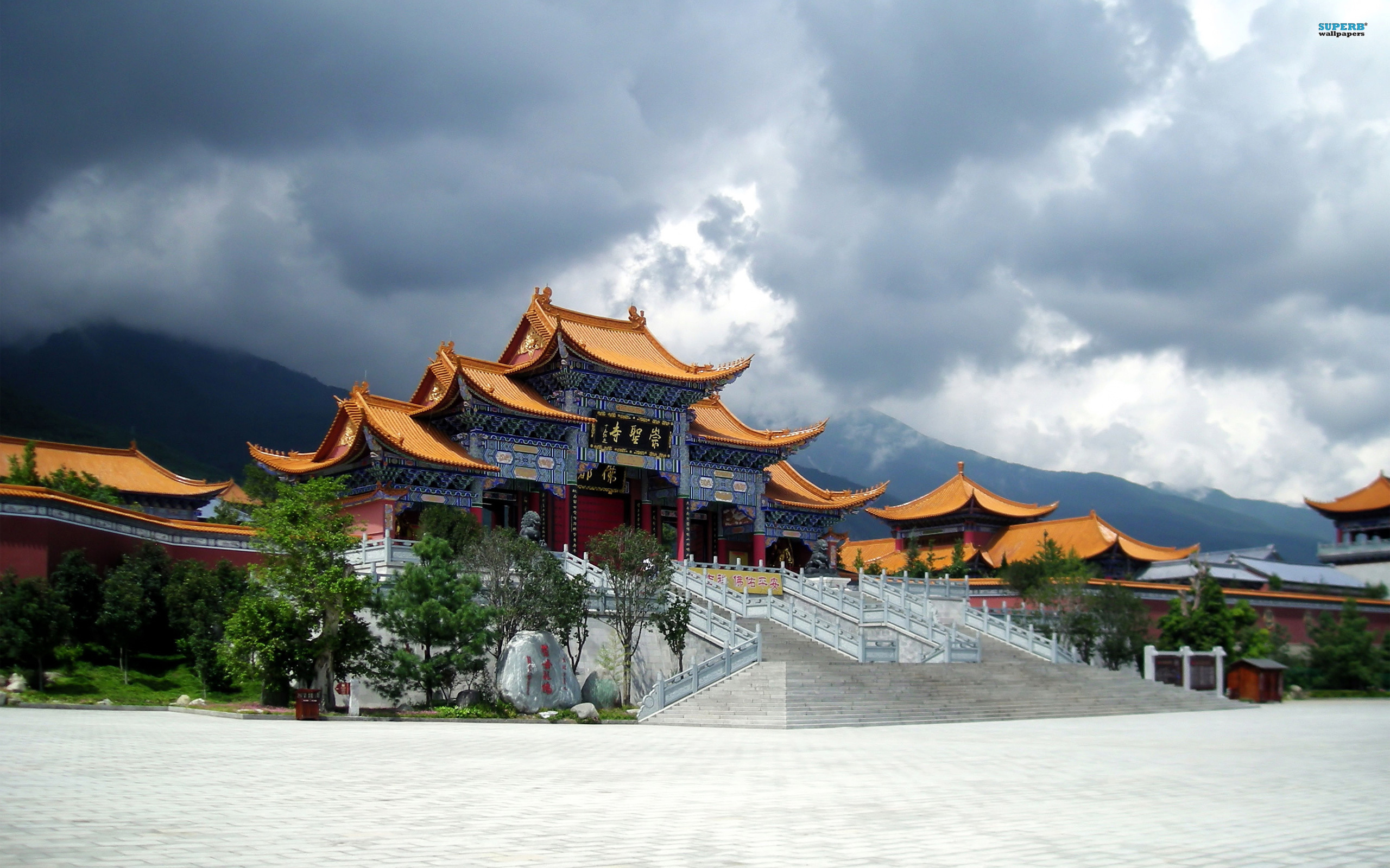 Chongsheng Temple In Yunnan China Wallpaper #121966 - Resolution 2560x1600 px