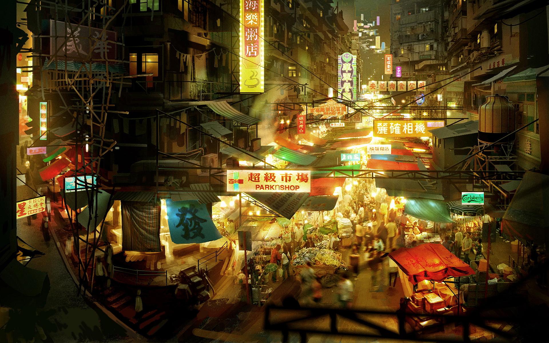 Chinese bazar