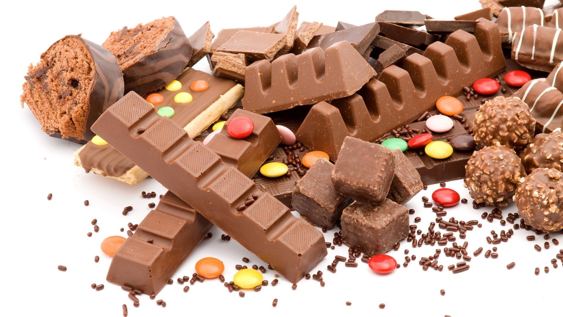 Free Chocolate Candy Wallpaper