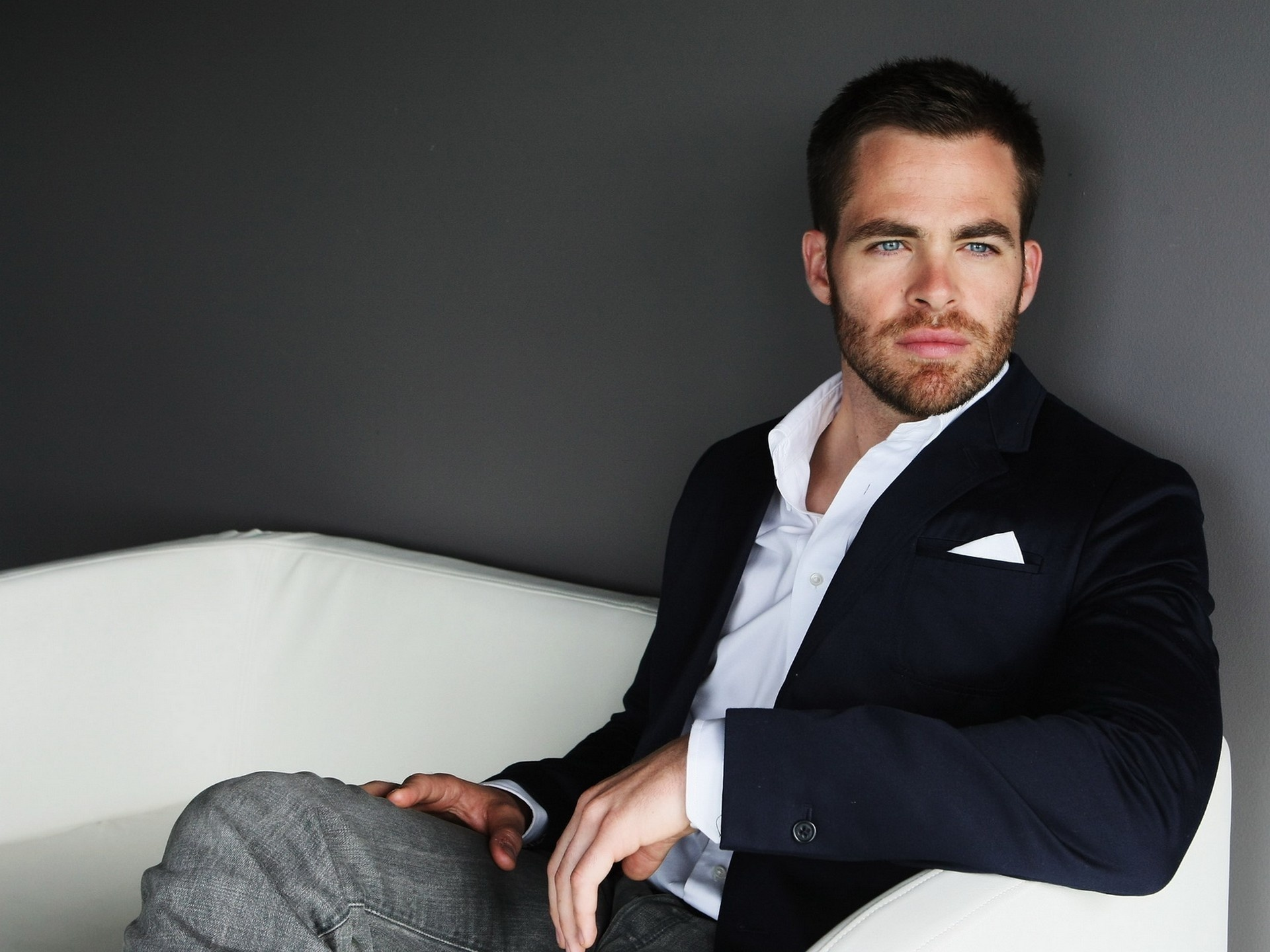 HD Wallpaper | Background ID:383155. 1920x1440 Celebrity Chris Pine