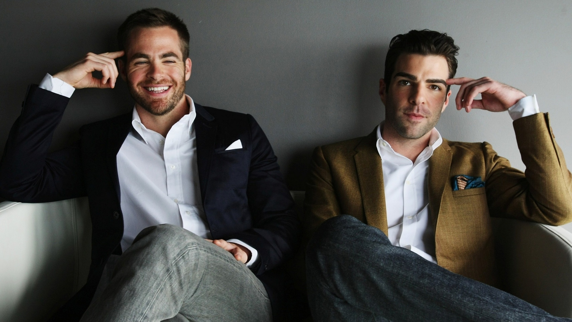 Chris Pine Zachary Quinto
