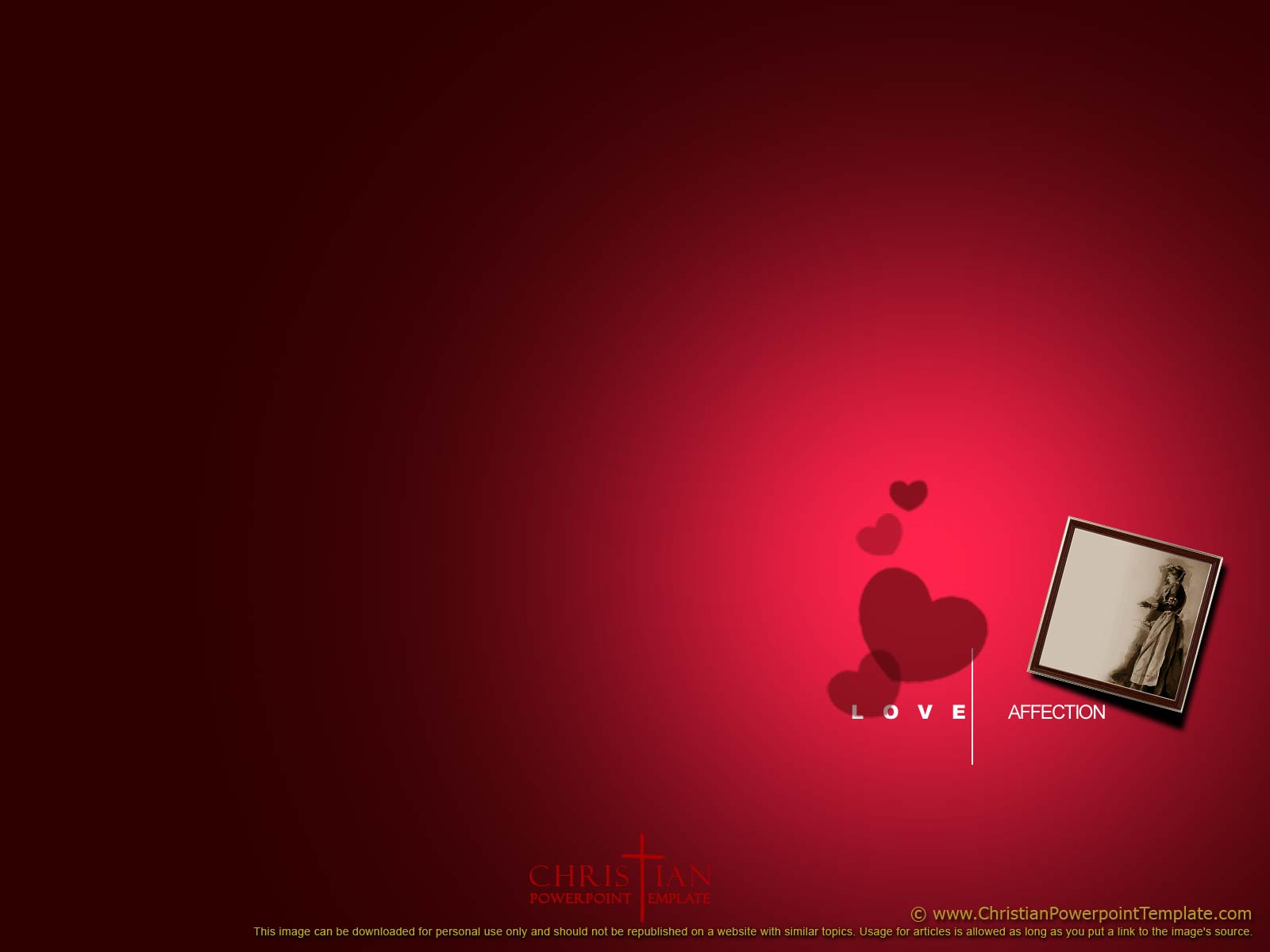 Christian Love Backgrounds