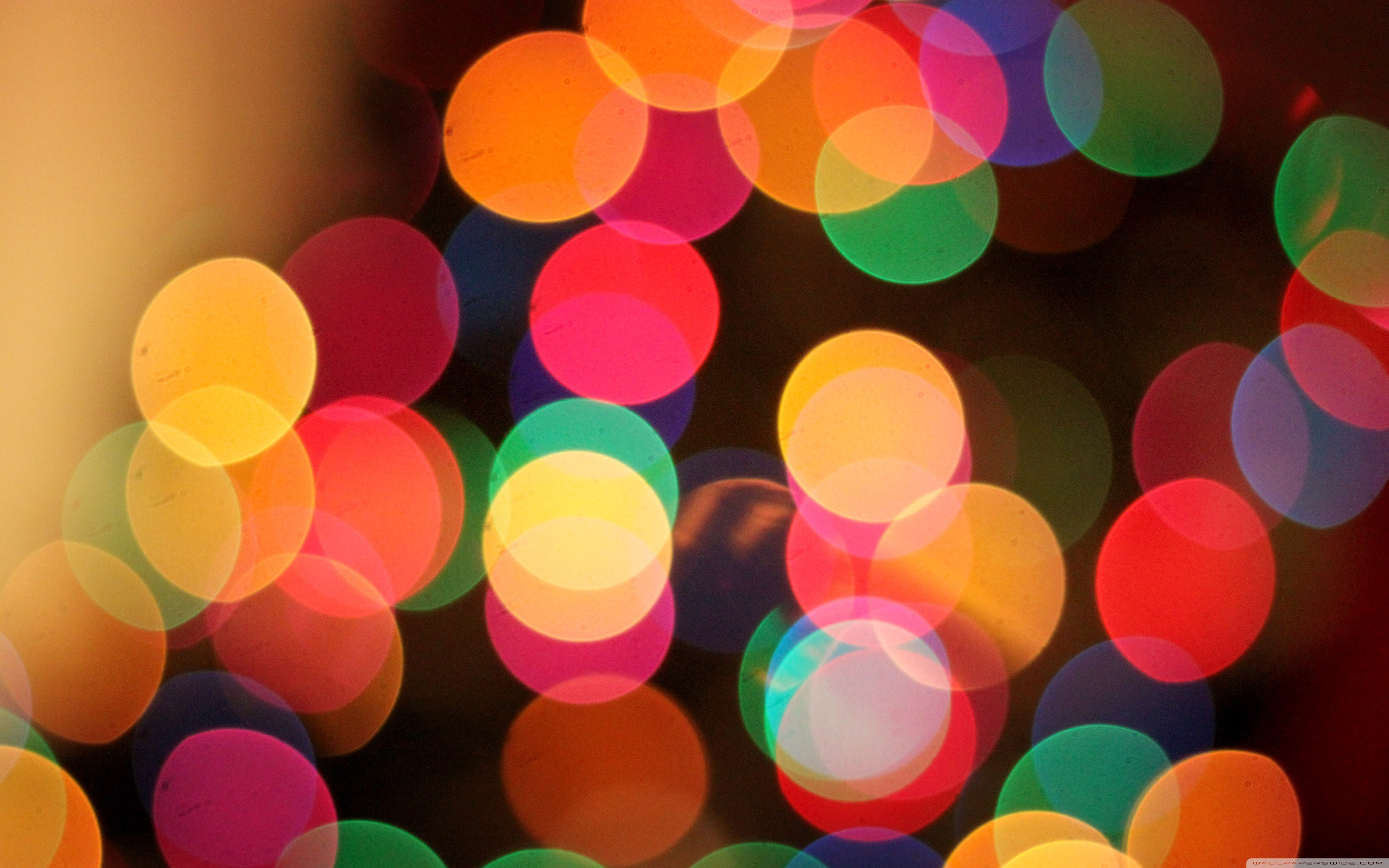 Christmas Bokeh Wallpaper