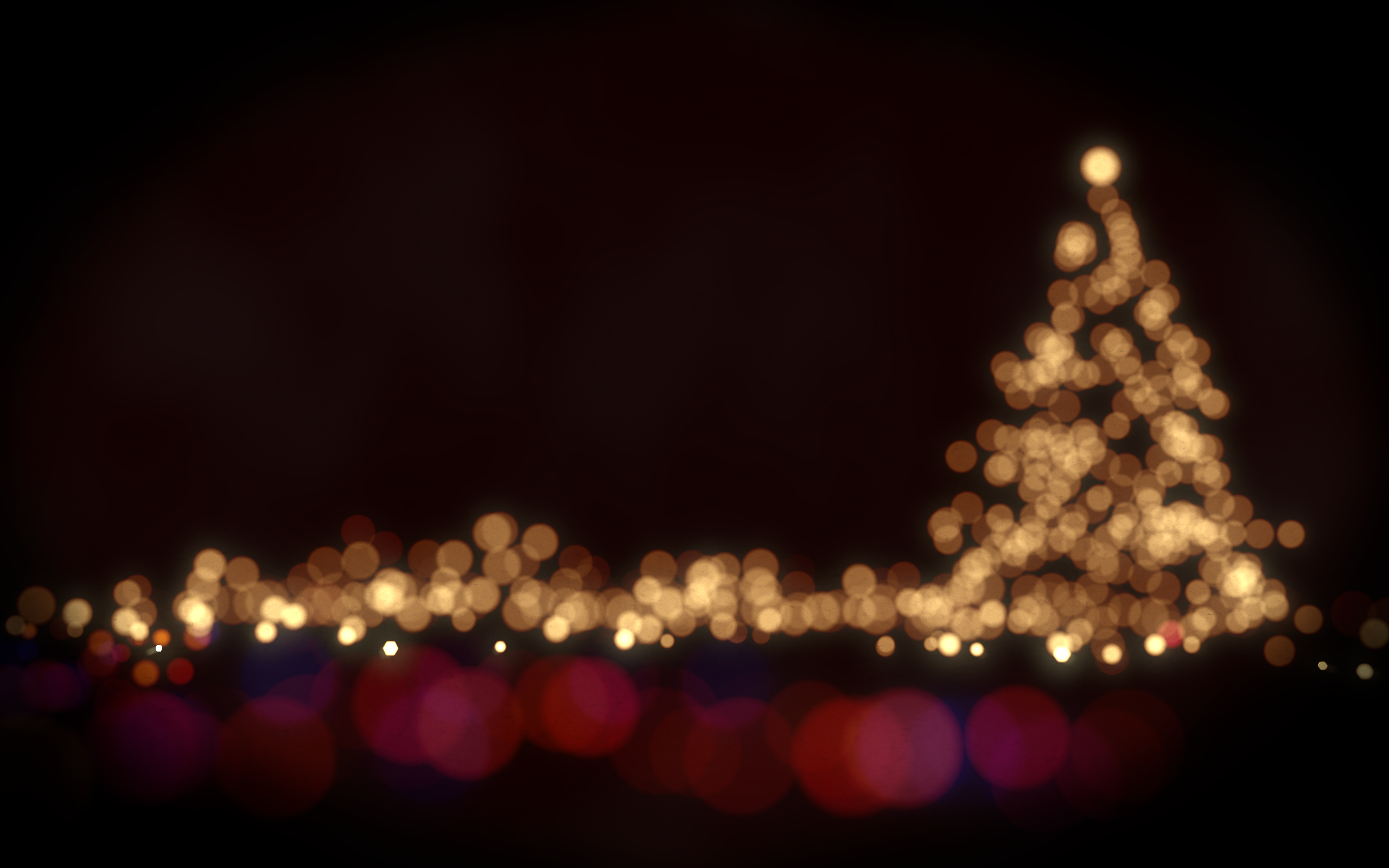 Christmas Bokeh Wallpapers