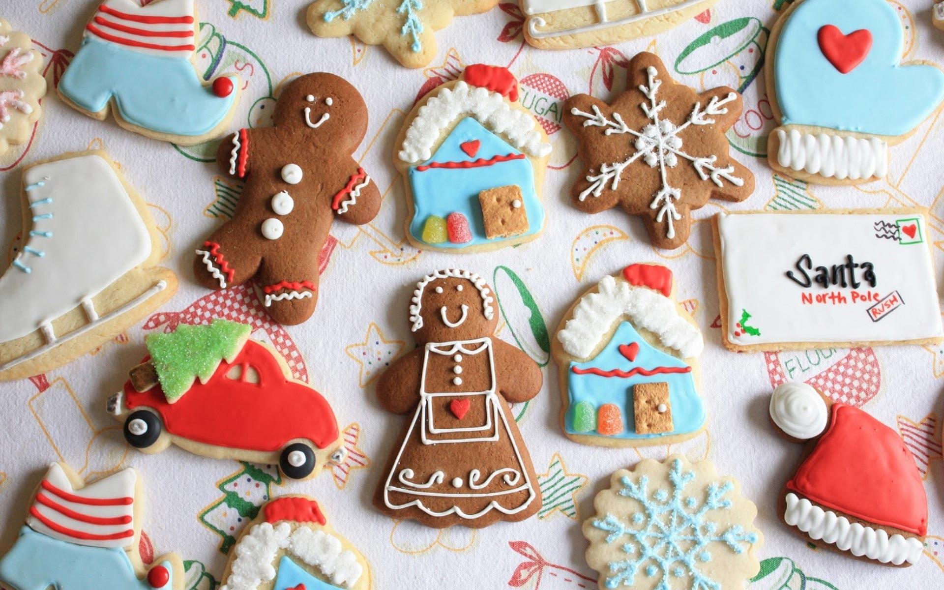 Christmas Cookies Wallpaper