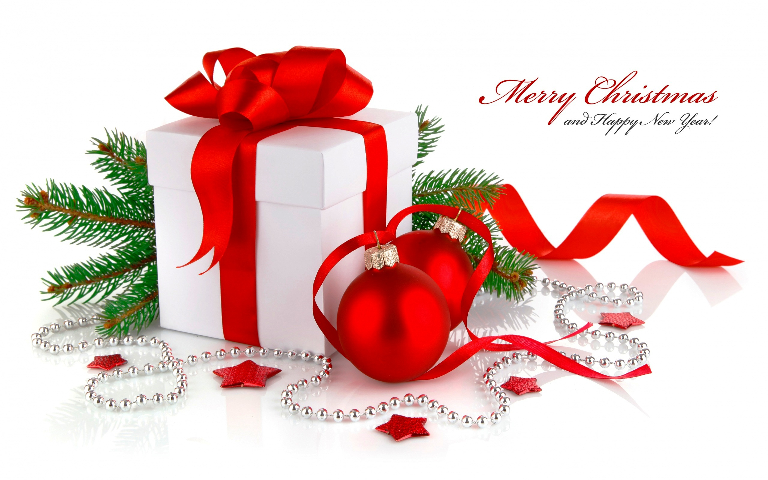 Christmas Gift New Year wallpaper | 2560x1600 | #26280