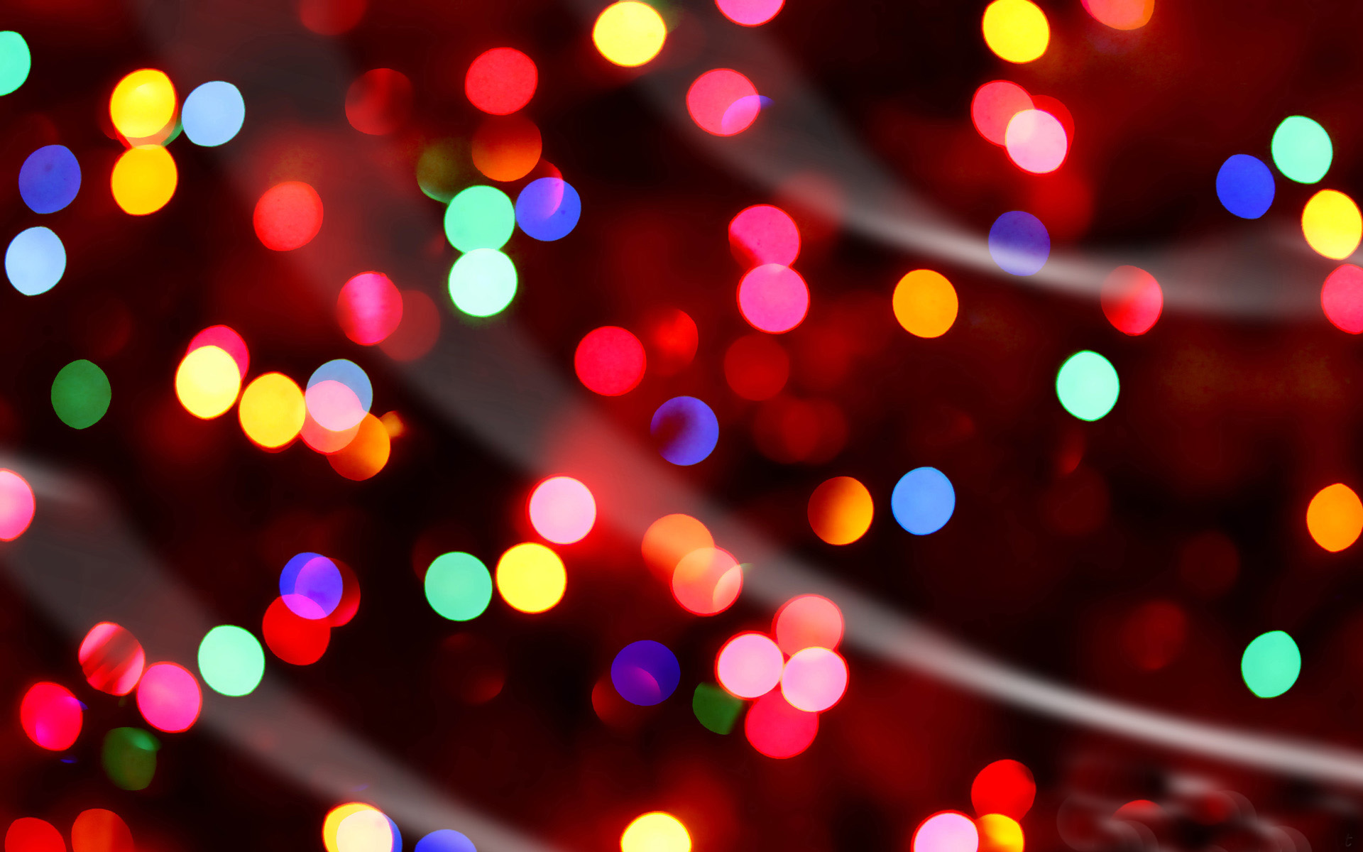 Christmas Lights Wallpaper 1920x1200 65605