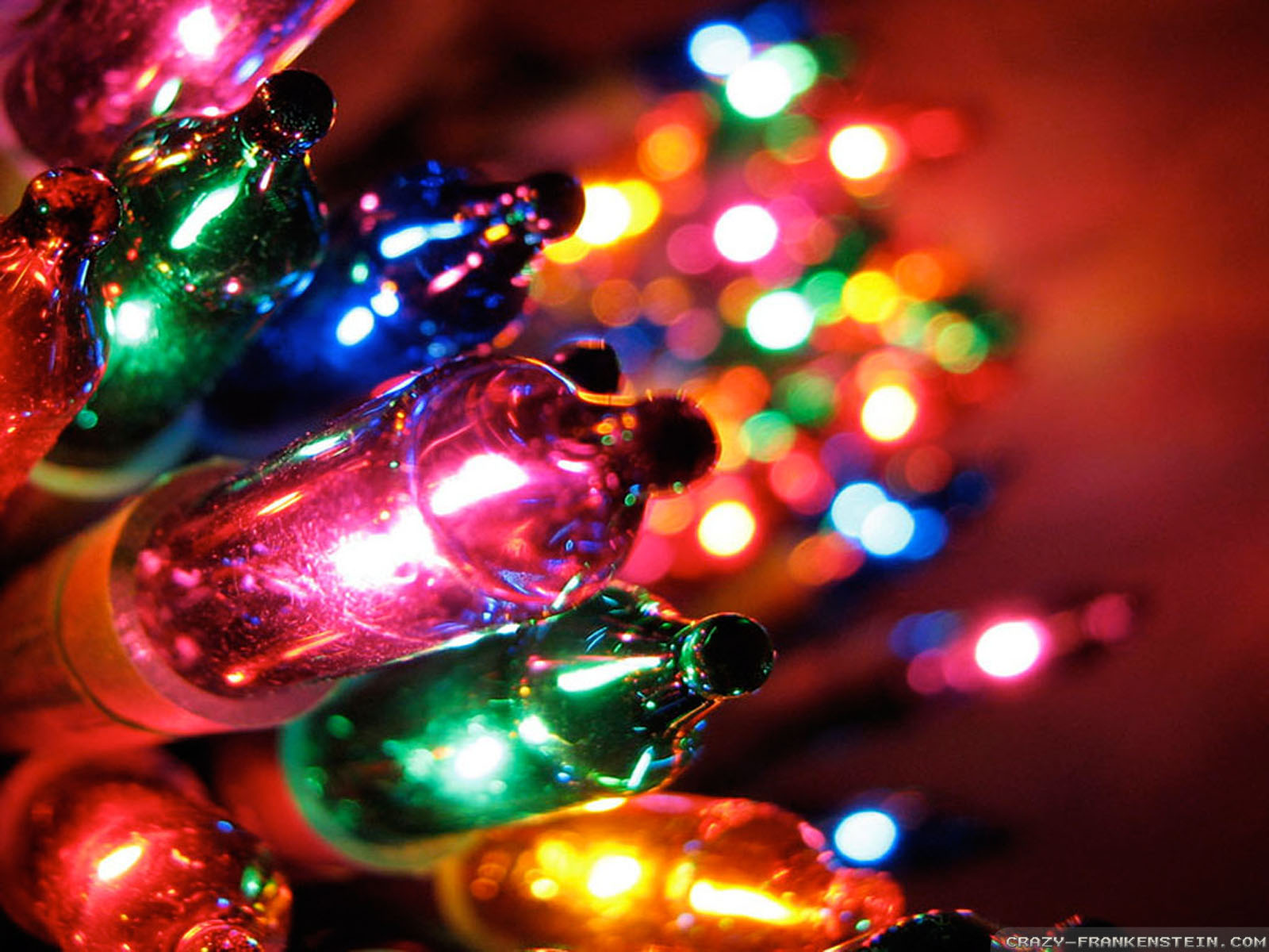 Christmas Lights Gallery HD Wallpaper