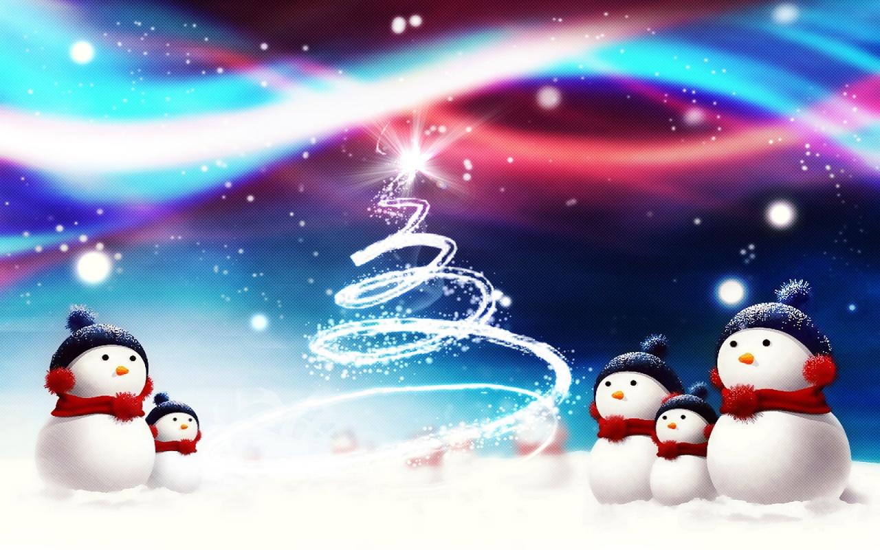 ... Snowman Wallpaper ...