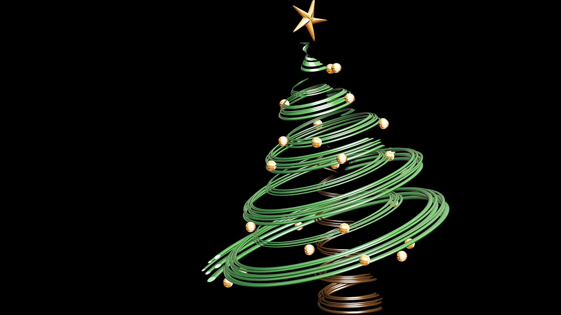 Christmas Tree Graphic 1920x1080 Ornaments Wallpaper