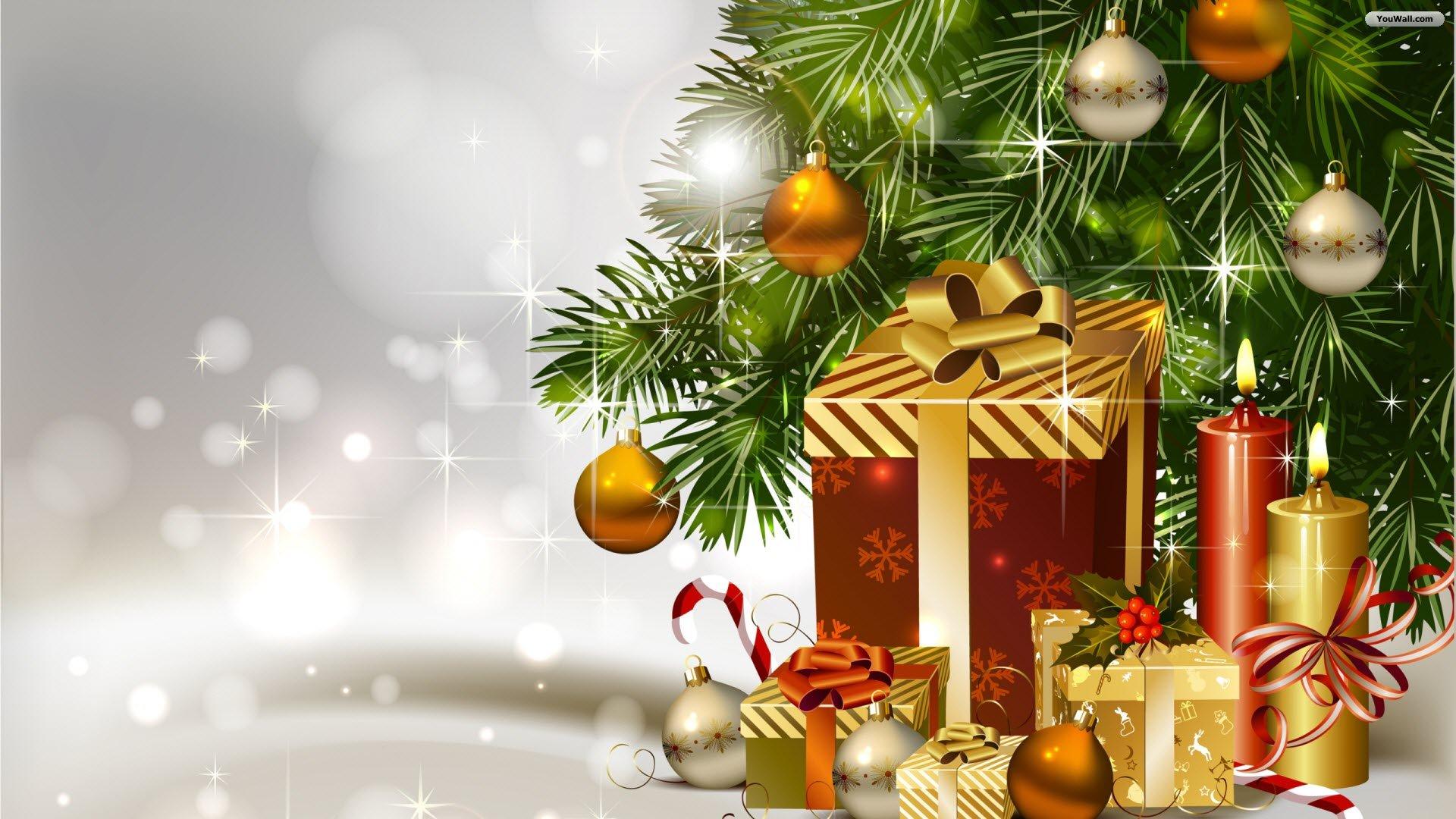 ... Christmas Tree Wallpaper 03 ...