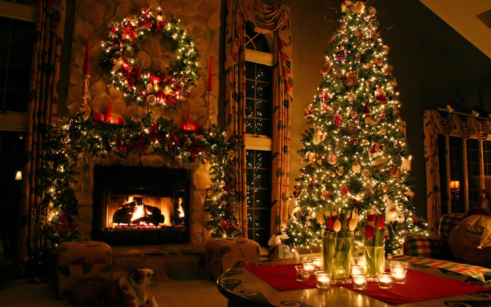 christmas wallpaper 81 1024x640 21 Stunningly Beautiful Christmas Desktop Wallpapers