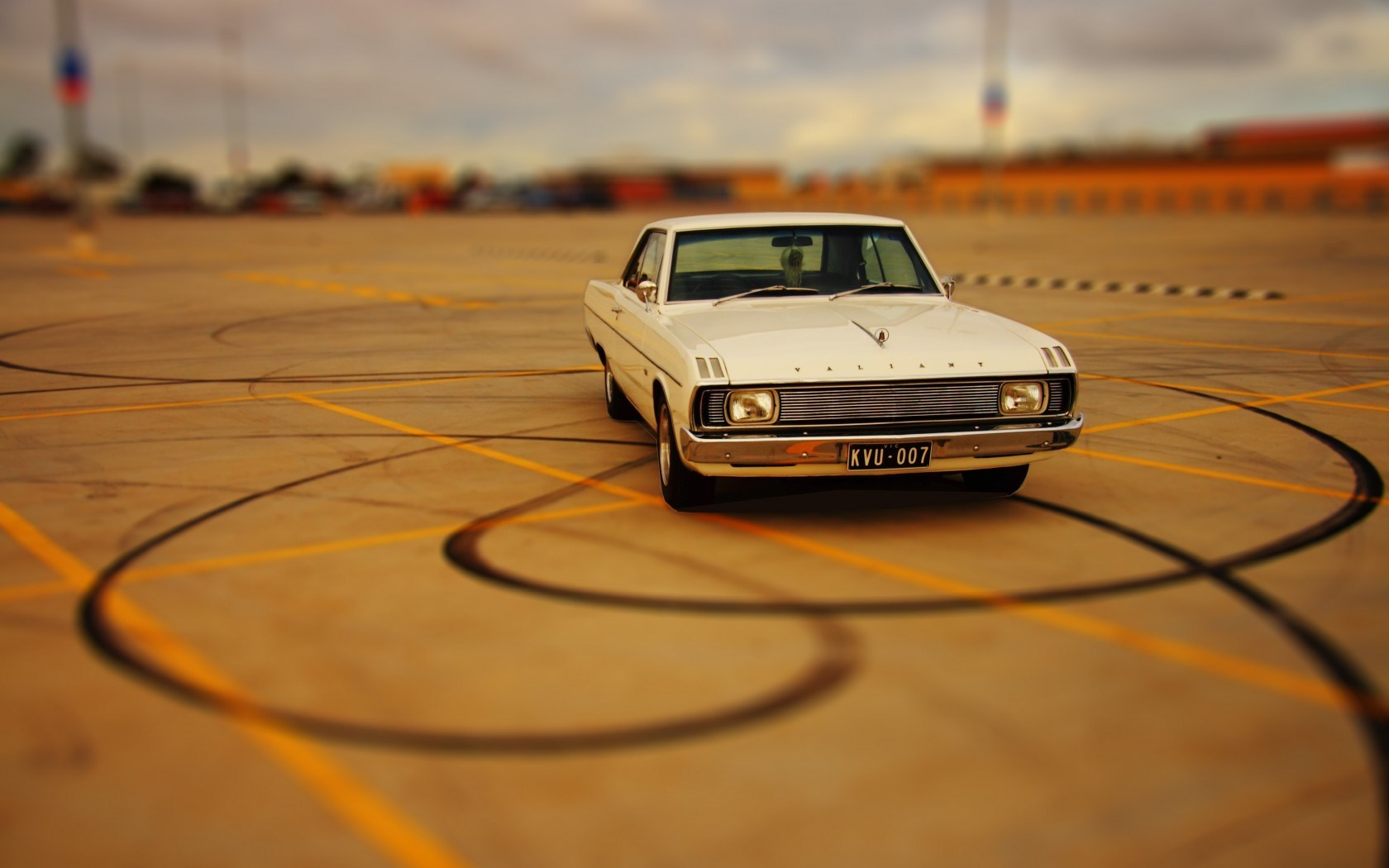 Chrysler Valiant Retro Car