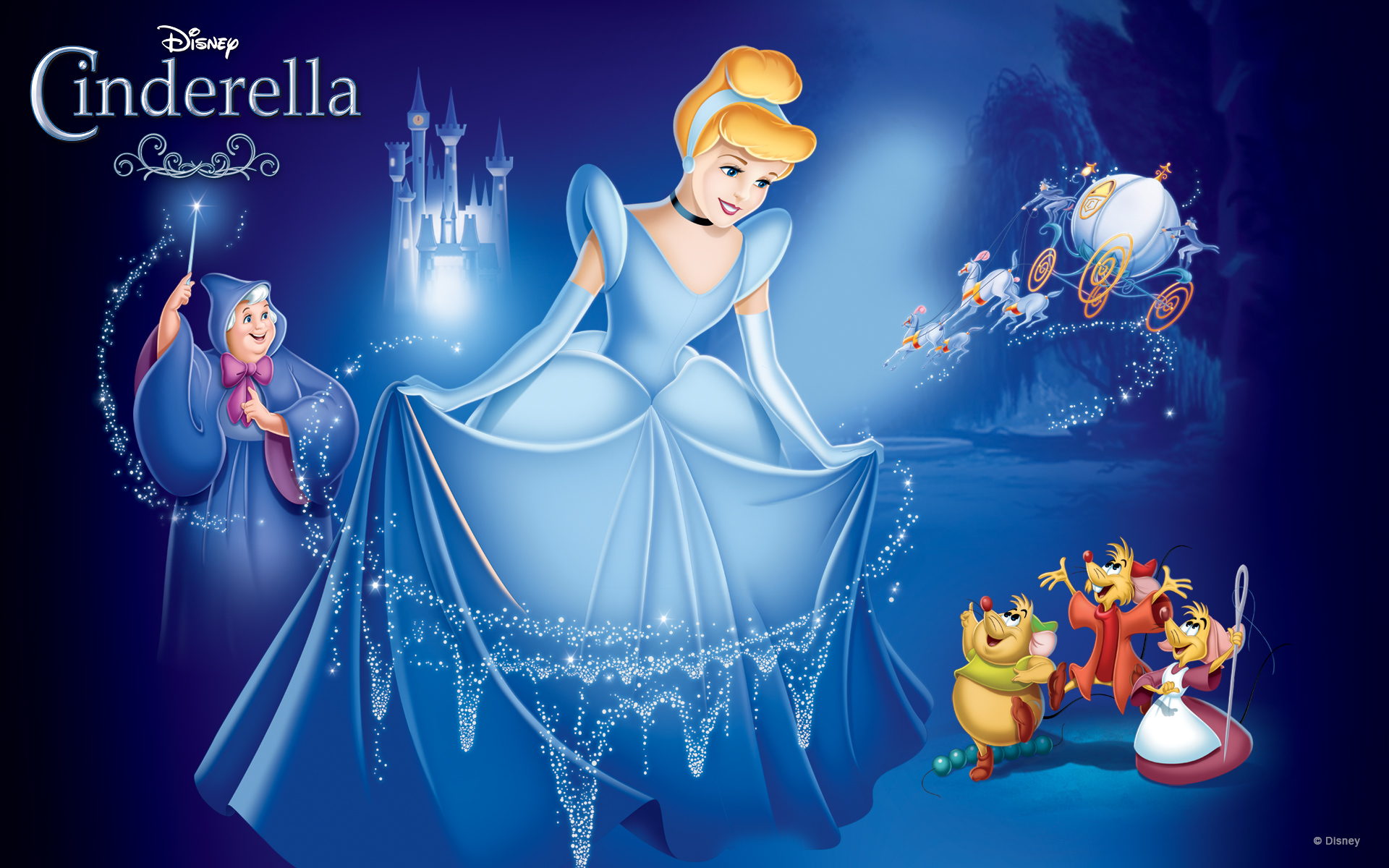 cinderella - princess-cinderella Wallpaper